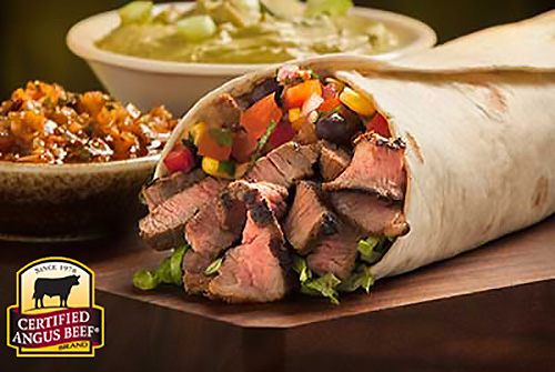 Grilled Sirloin Burritos