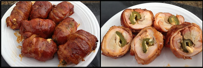 Smoked Bacon Wrapped Chicken Roll-ups