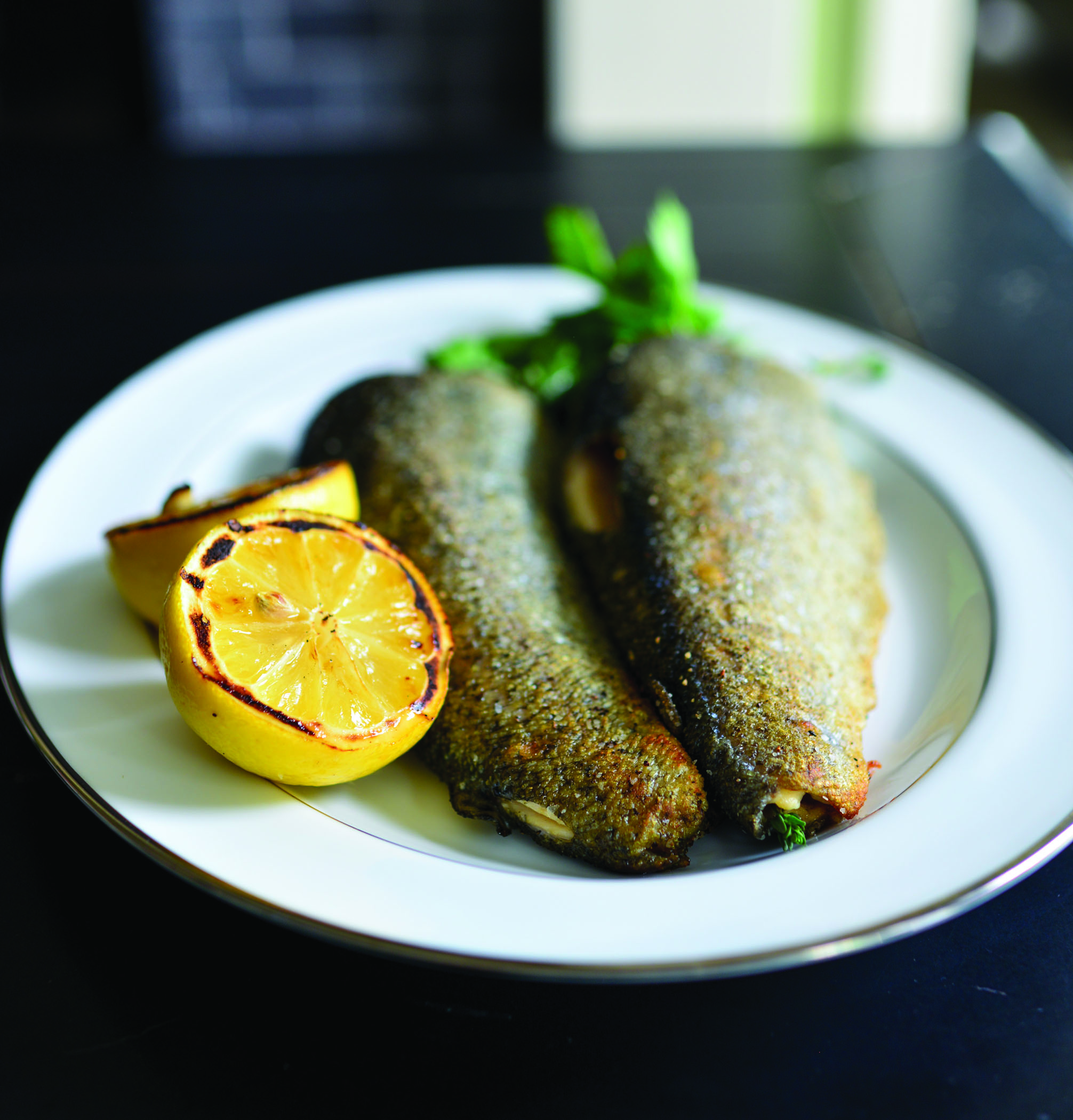 Grilled Trout. Photo by Bonjwing Lee