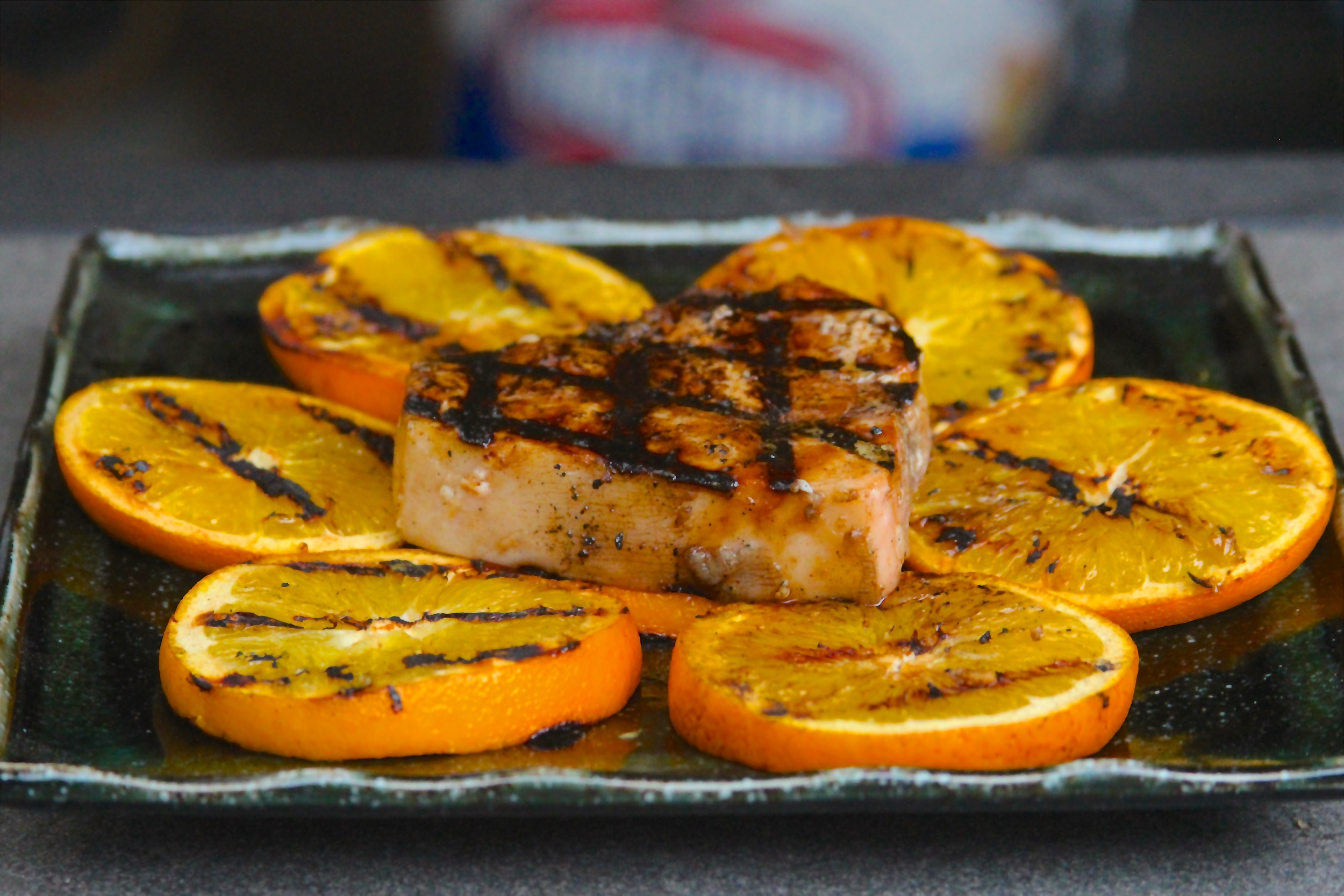 Grilled Balsamic Swordfish