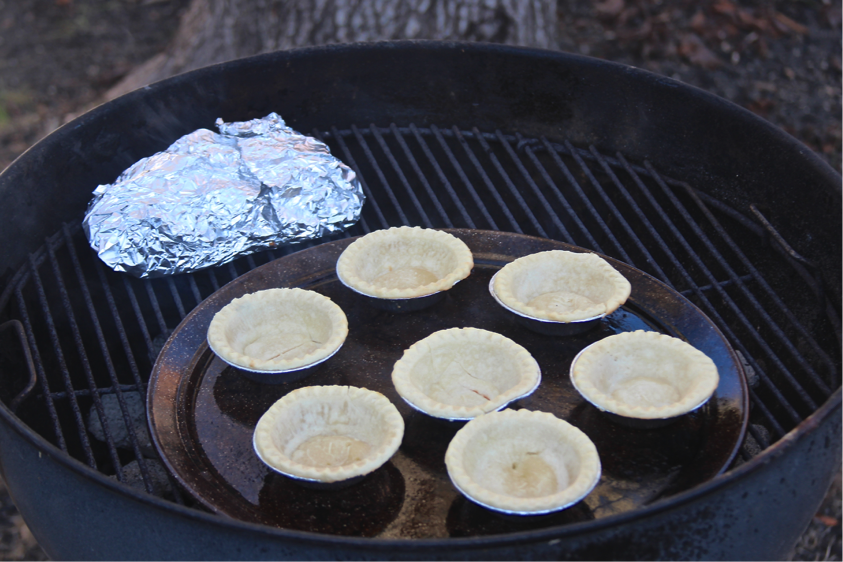 Baking Tart Shells on the Grill