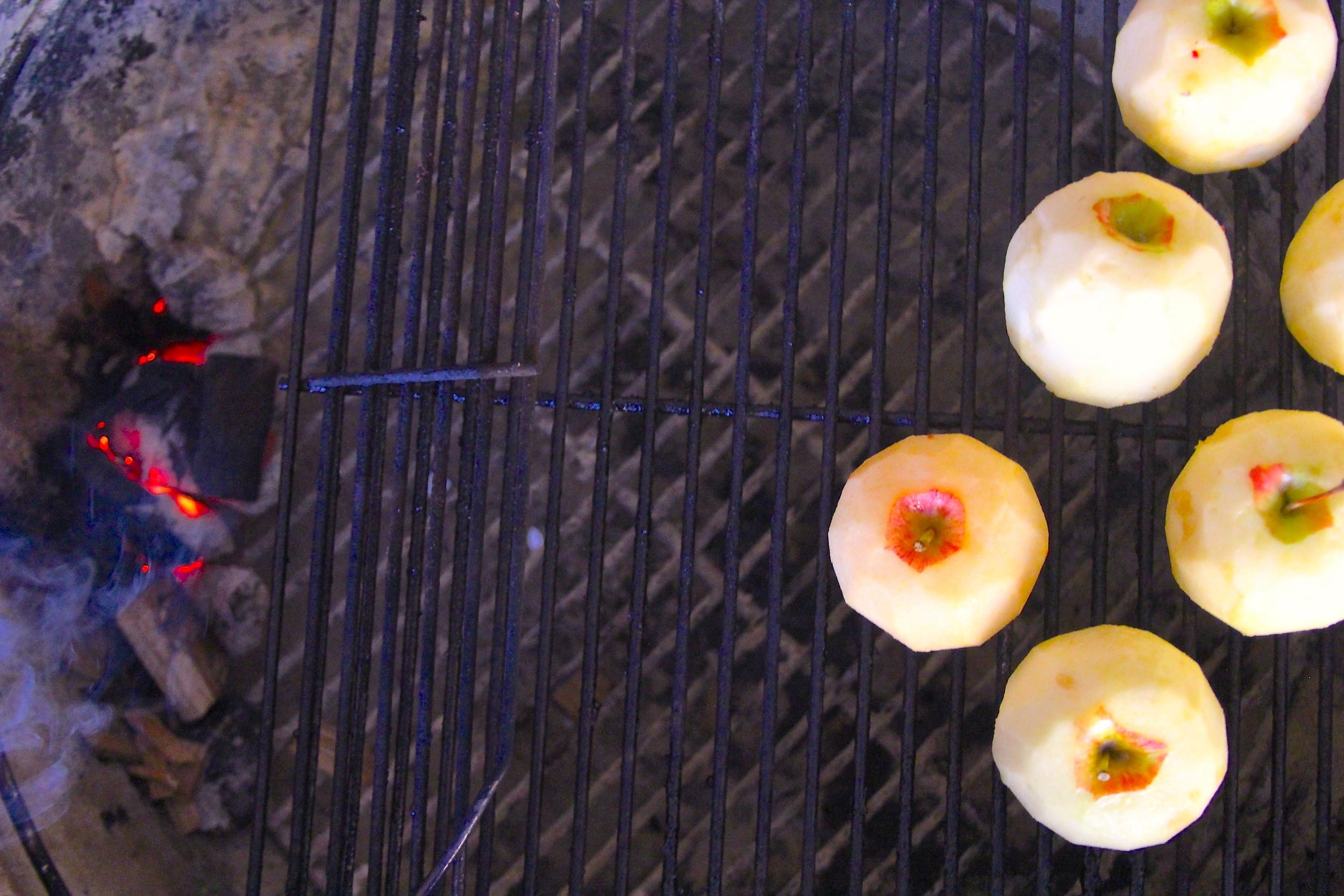 Smoking Apples