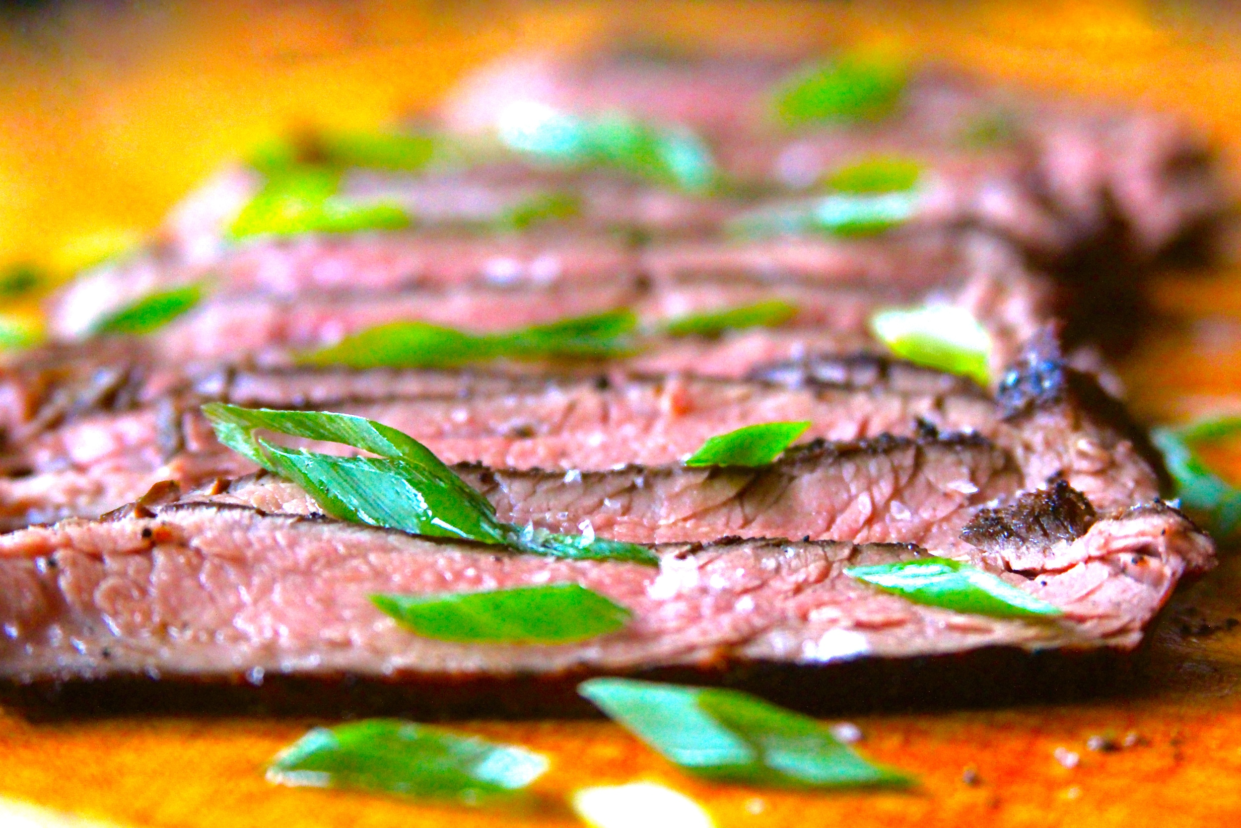 Grilling Sous Vide Flank Steak