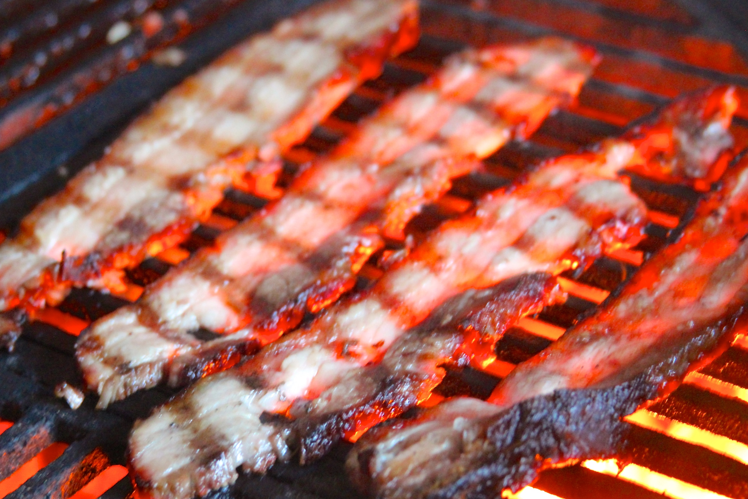 Grilled Mojo Marinated Pork Belly