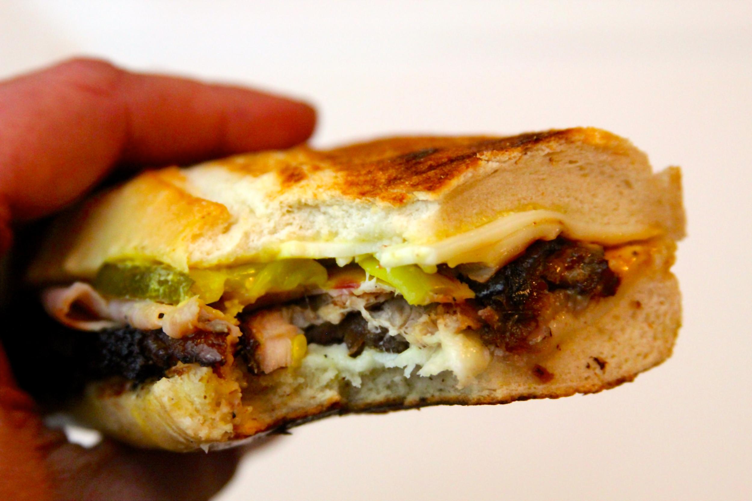 Smoked Pork Belly Cuban Sandwich