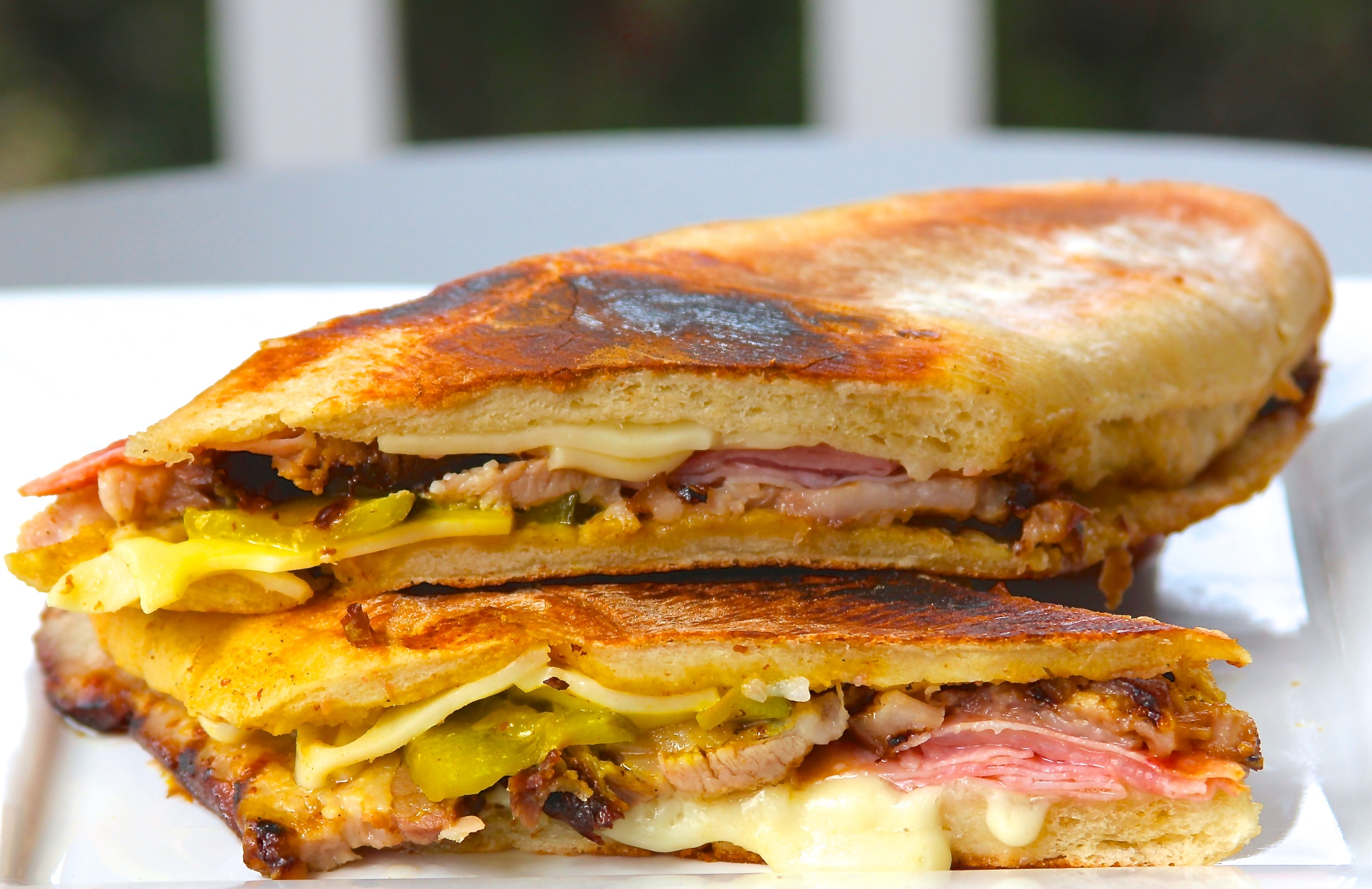 Smoked Pork Belly Cuban Sandwich