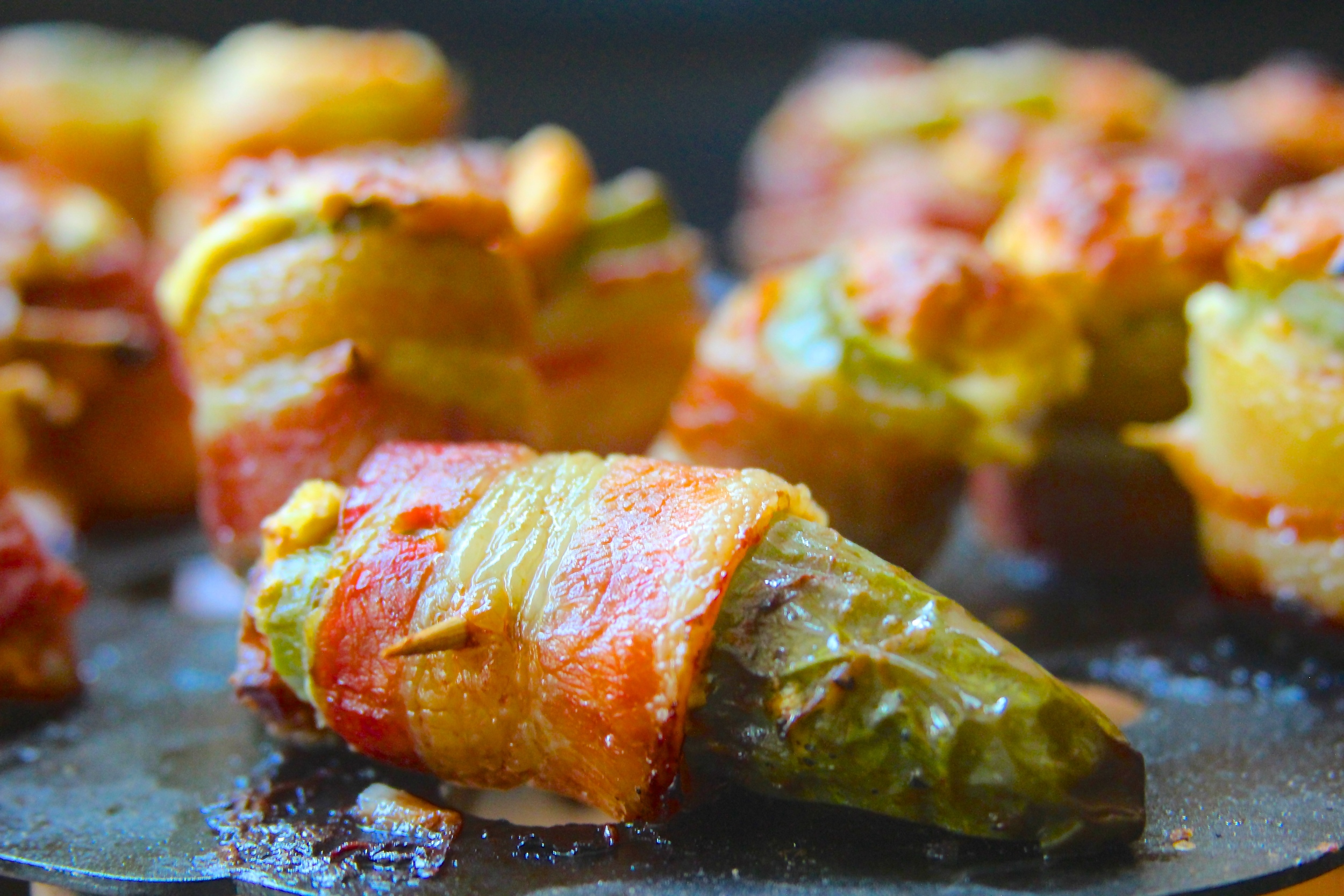 Smoked Russian Roulette Jalapeno Poppers