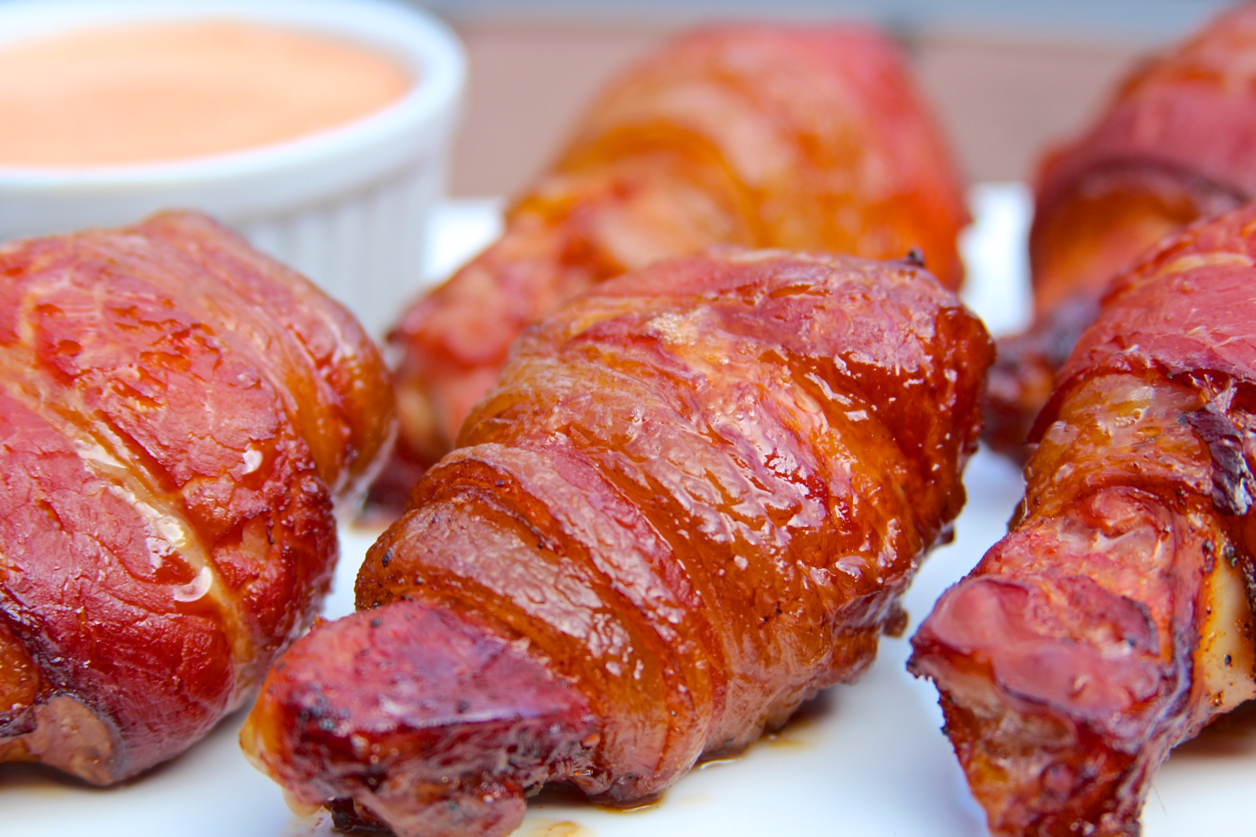 Smoked Bacon Wrapped Wings