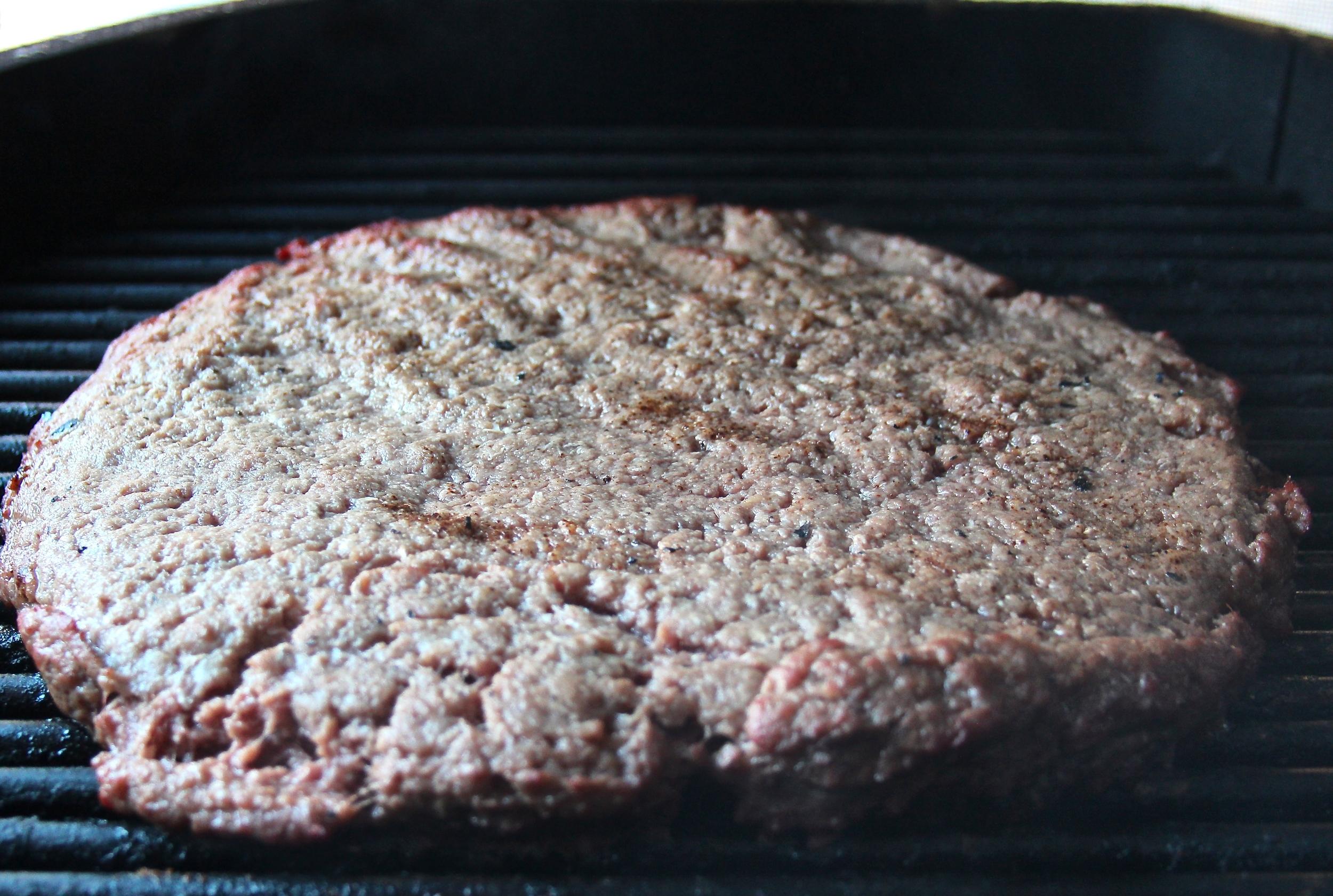 Smoking Ground Beef for Chili