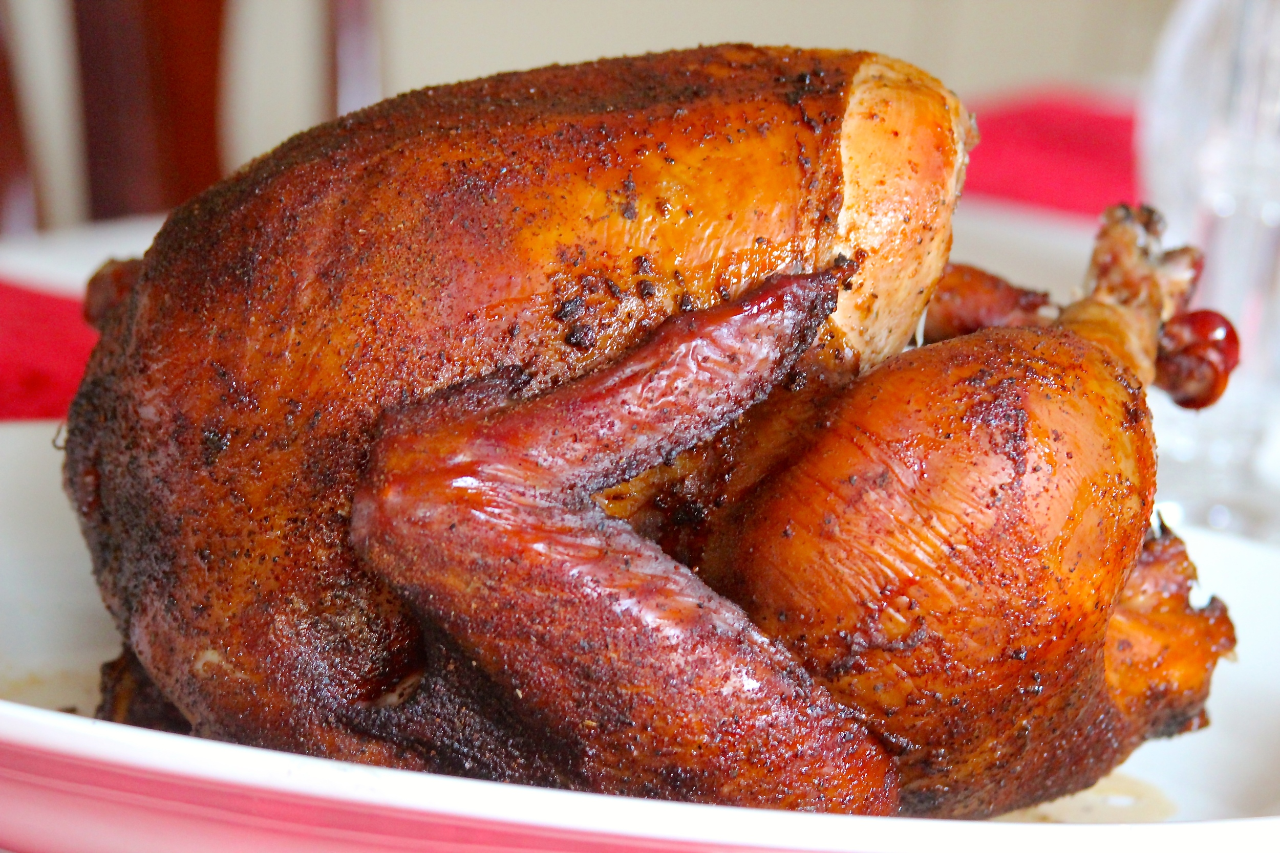 Smoked Thanksgiving Turkey