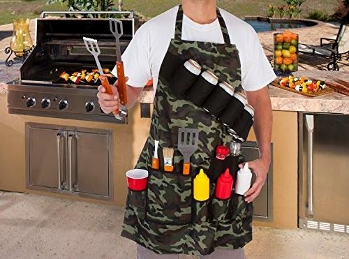 Camo Grilling Apron