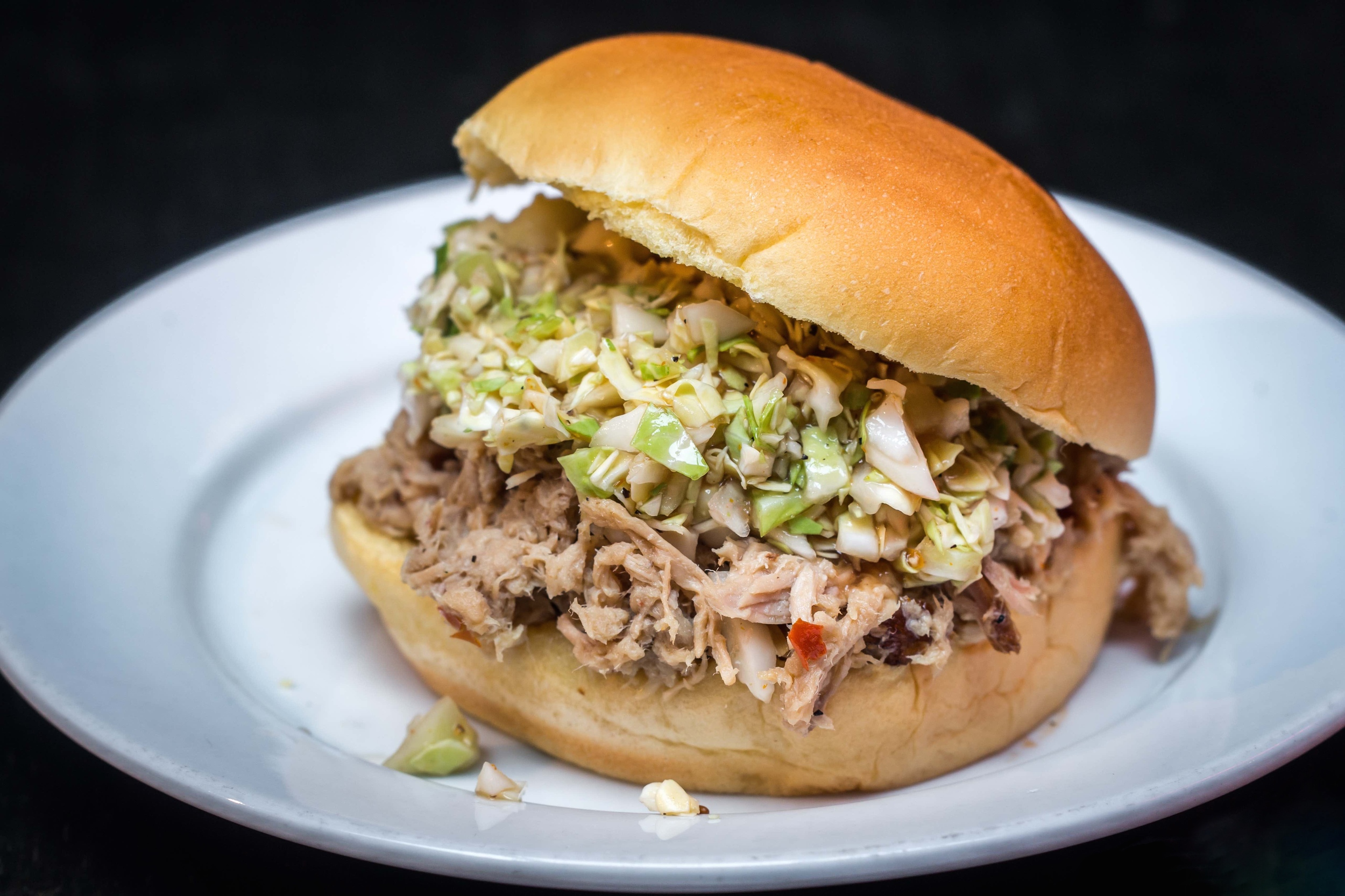 North Carolina Pulled Pork Sandwich