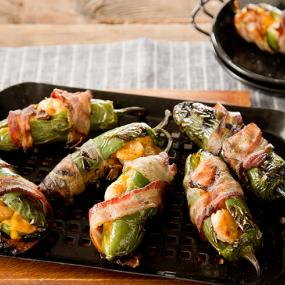 Grilled Barbecue Shrimp Jalapeno Poppers