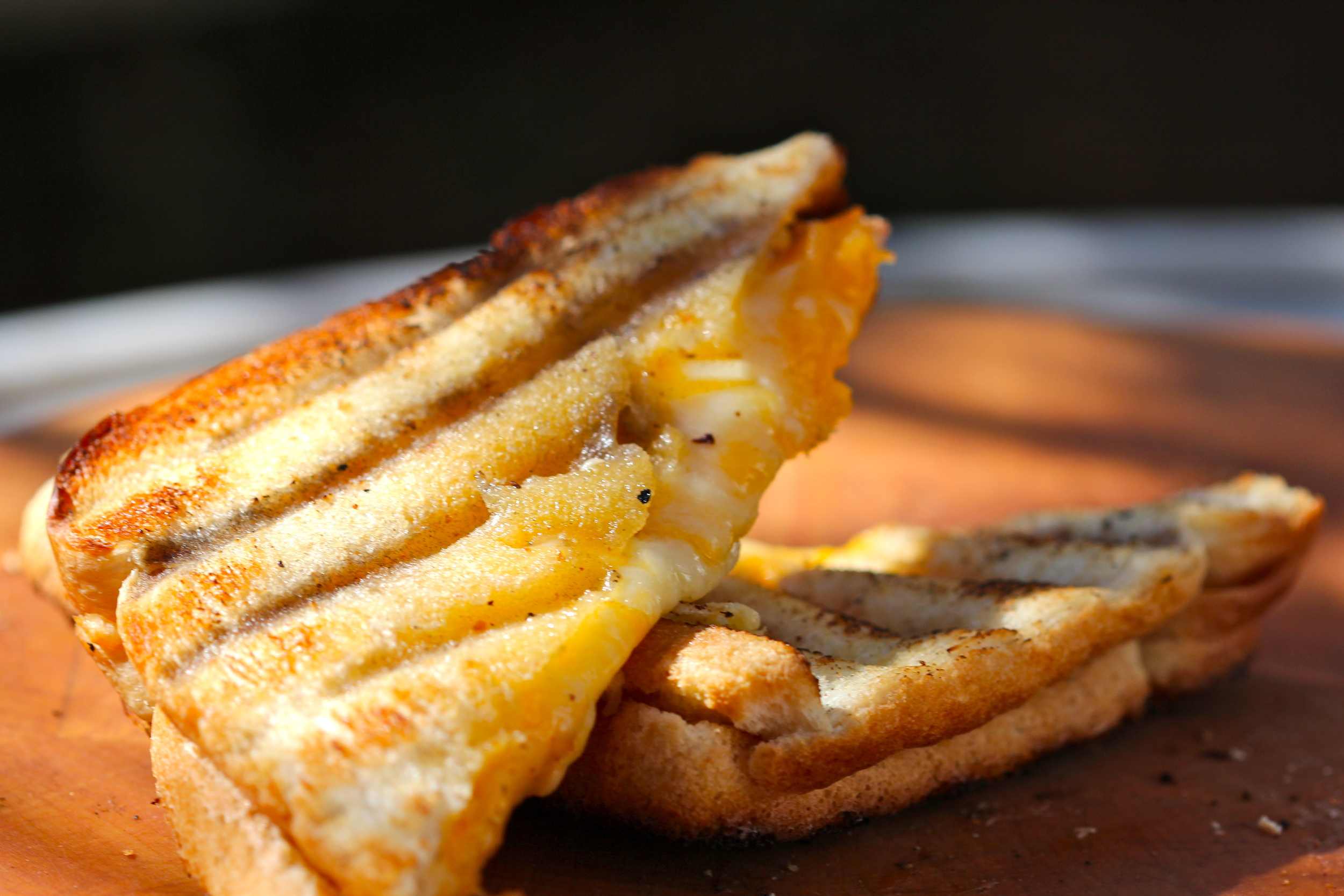 Grilled Double Cheddar Sandwich