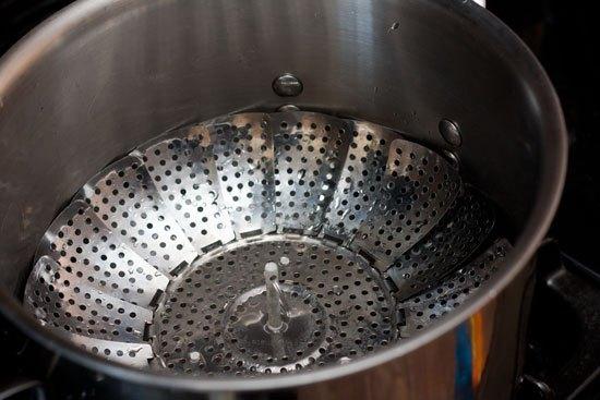 Preparing to Steam the Pastrami