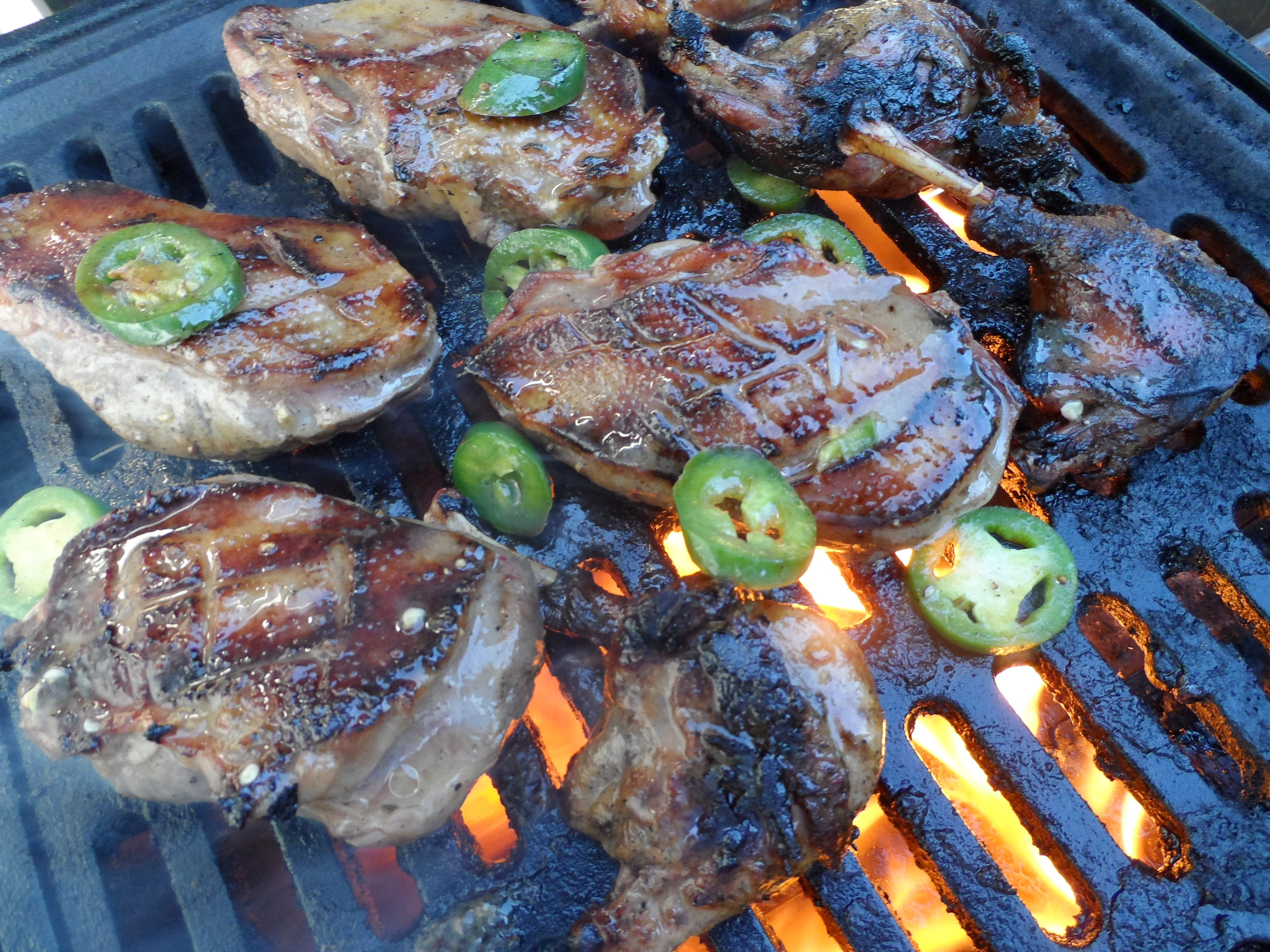 Grilled Jalapeno Duck