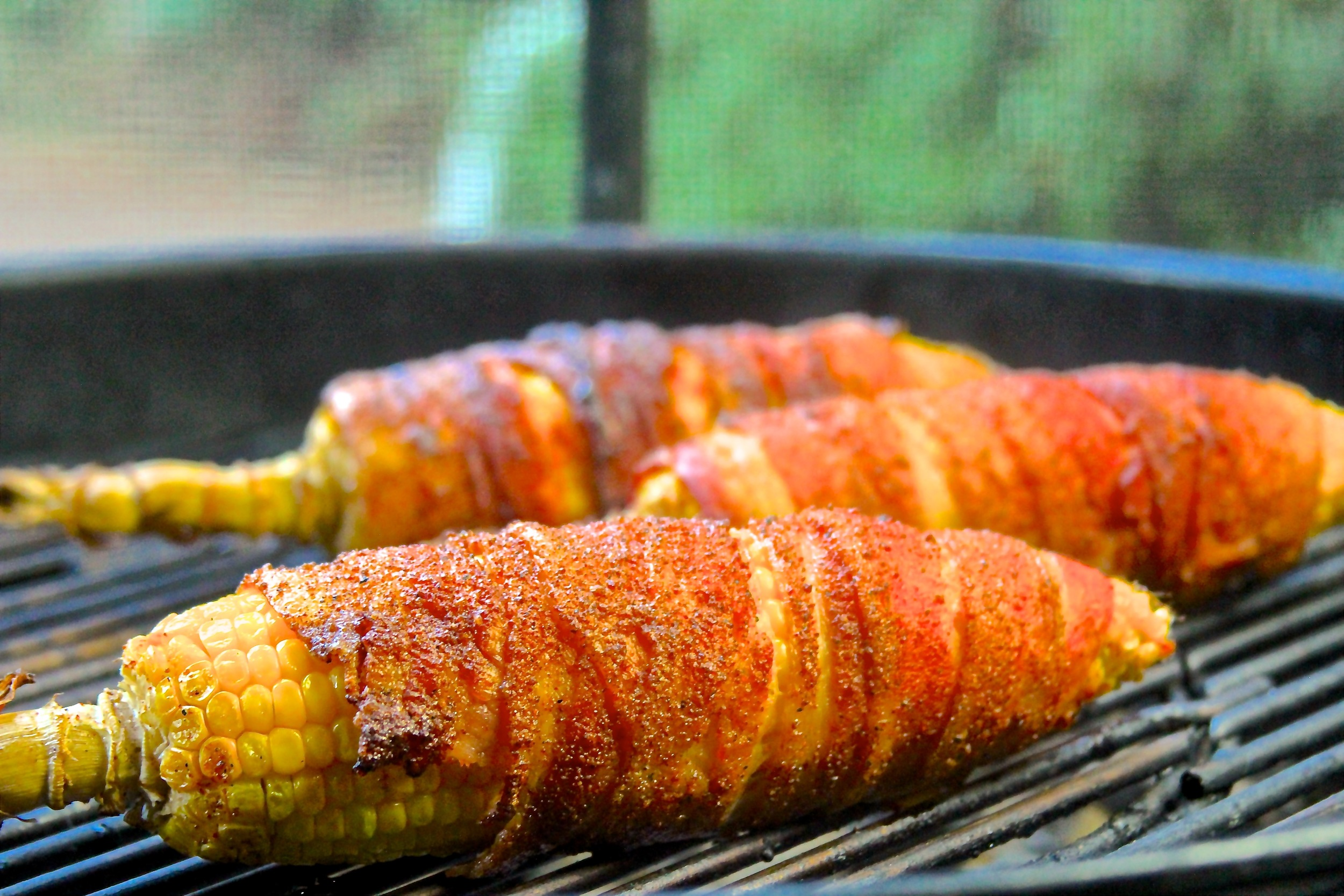 You Bacon Me Crazy Grilled Corn