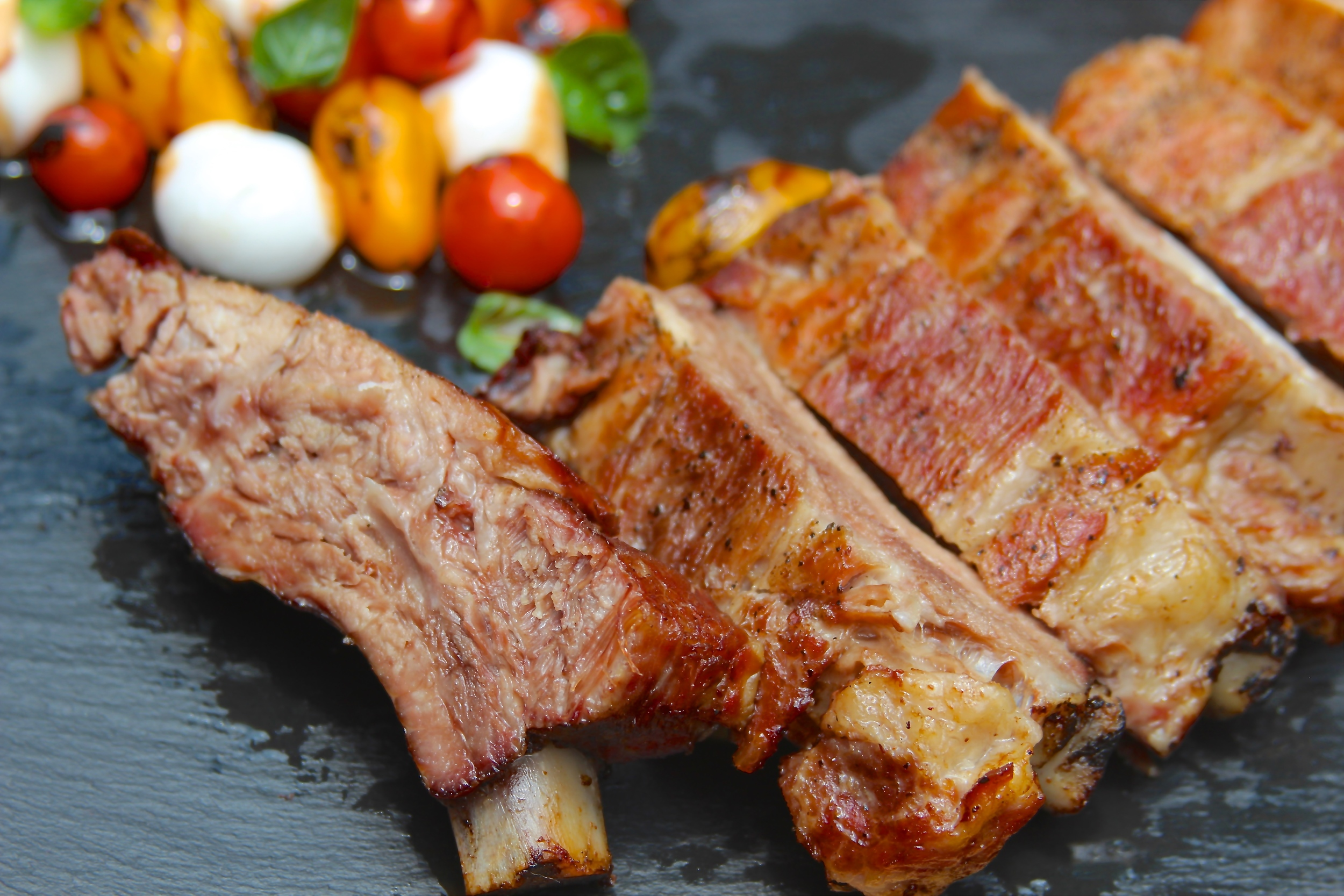 Smoked Pork Ribs Confit