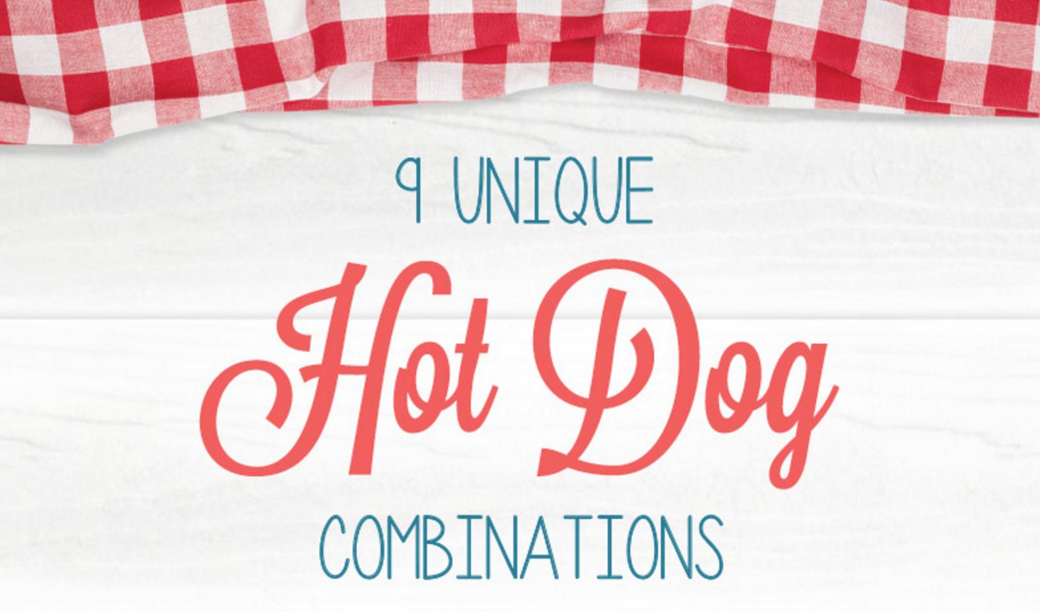 Unique Hot Dog Recipes