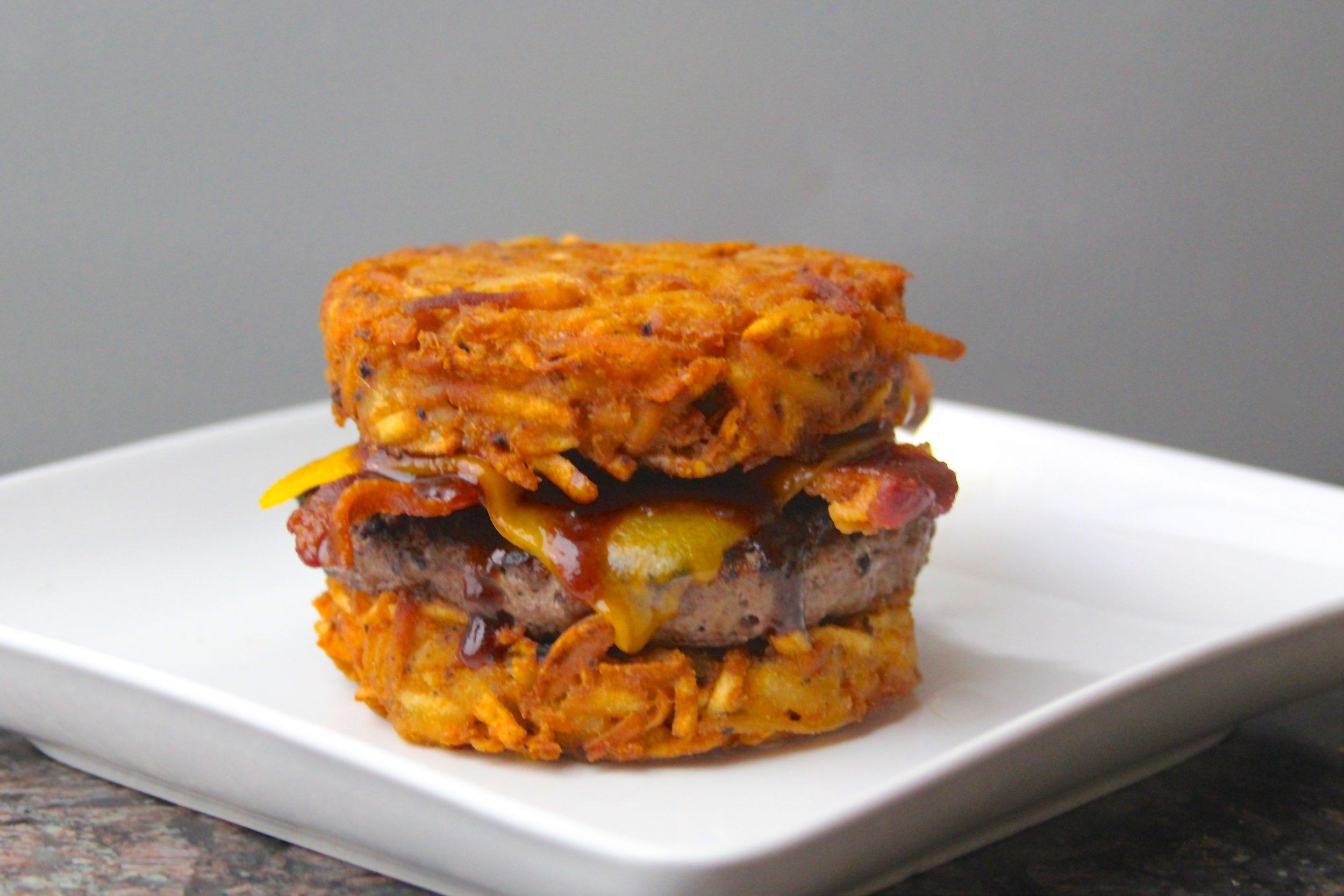 Hashbrown Bacon Cheeseburger
