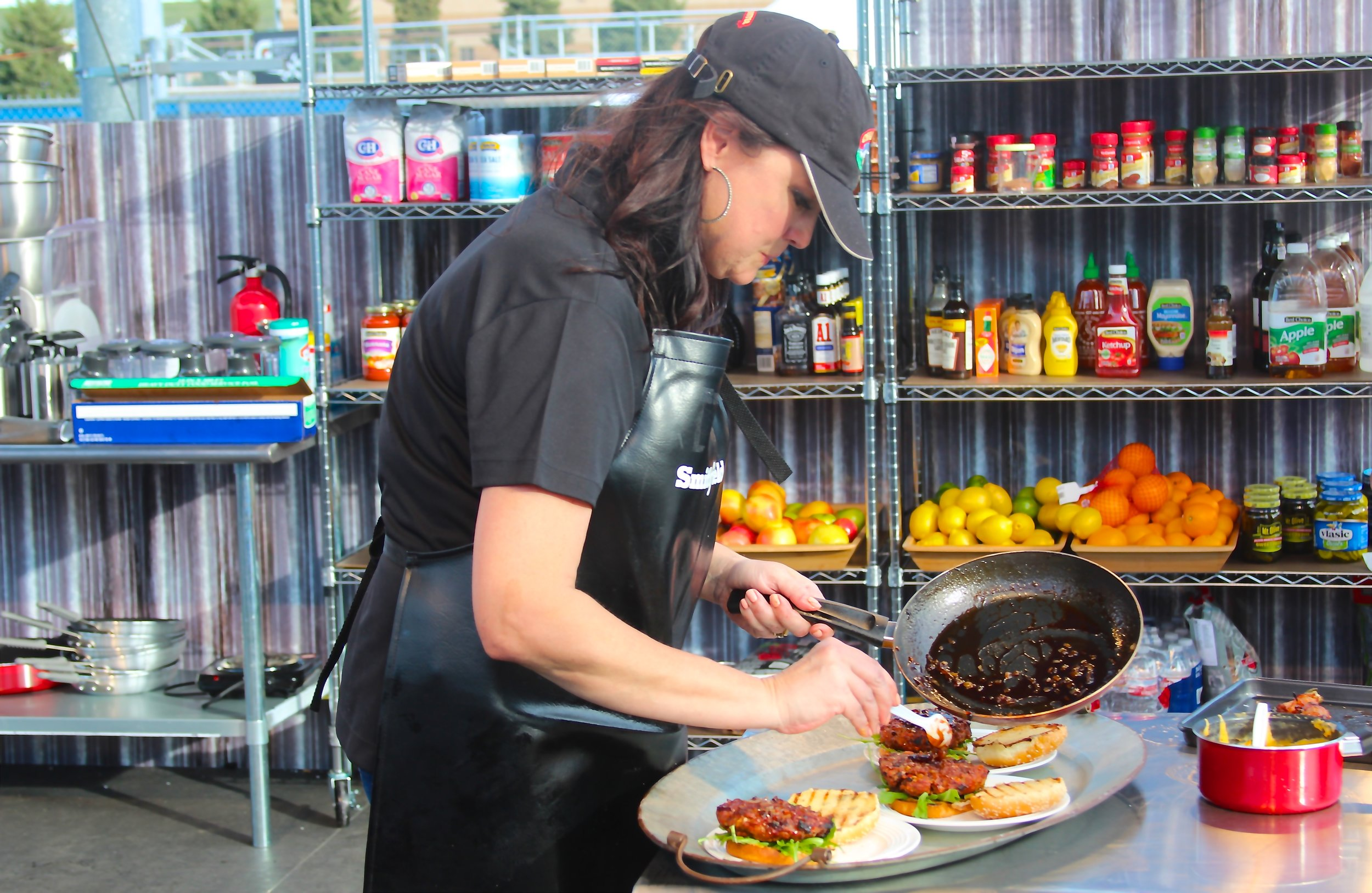 Suzanne Clark Completes Award Winning Burgers