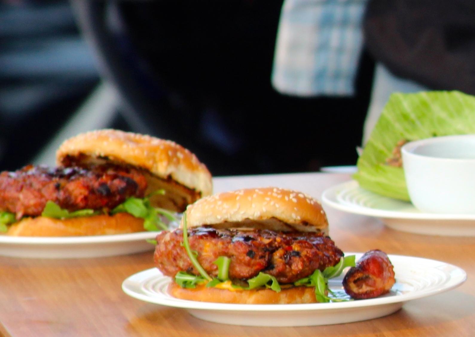 Bacon Stuffed Burger
