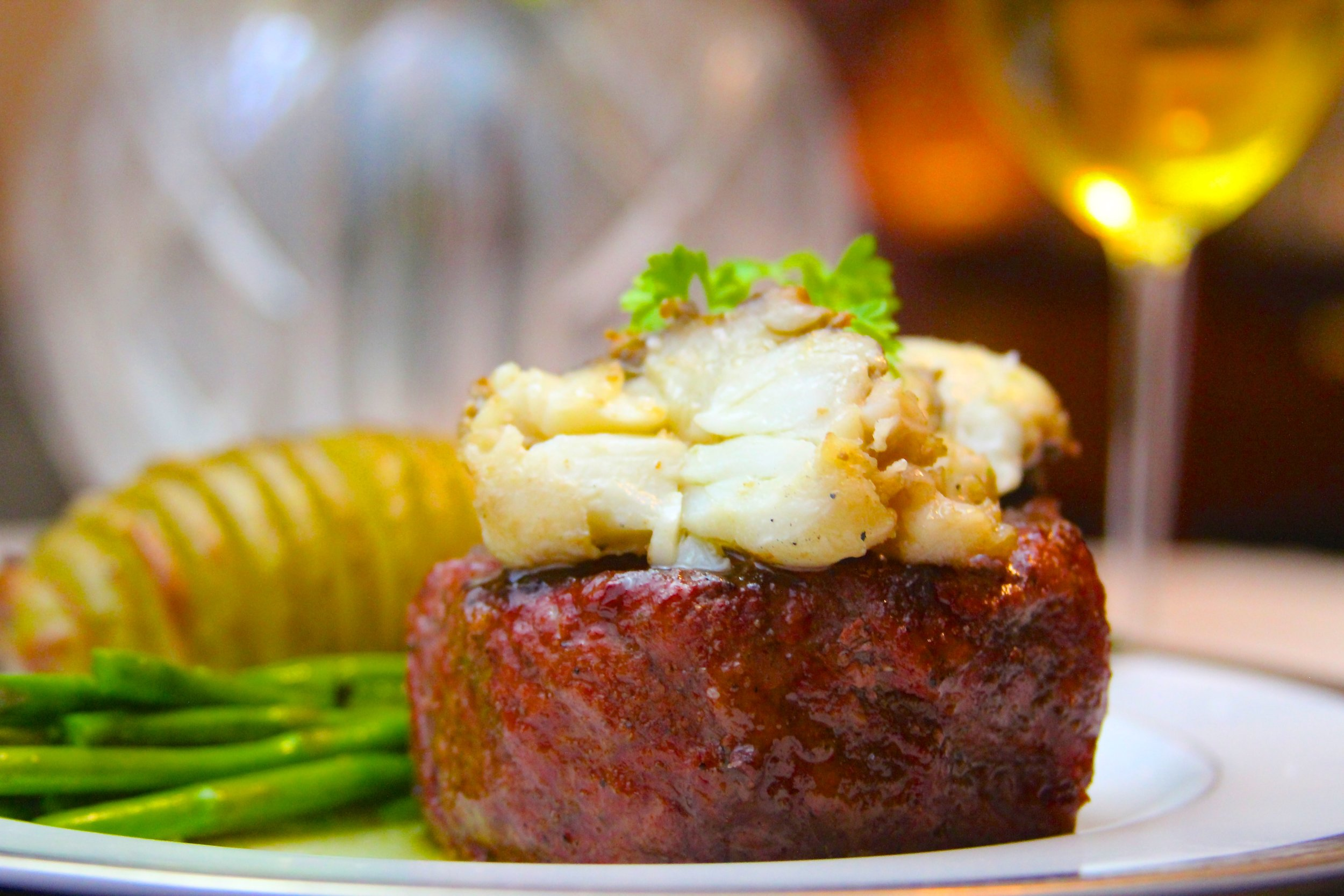 Ribeye Fillet with Butter Poached Lobster