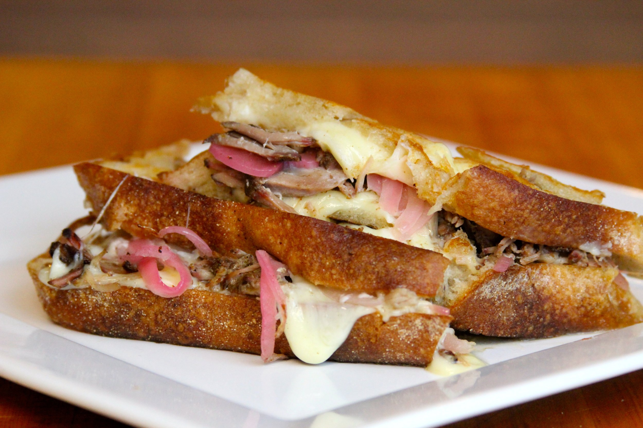 Smithfield Carnitas Grilled Cheese Sandwich