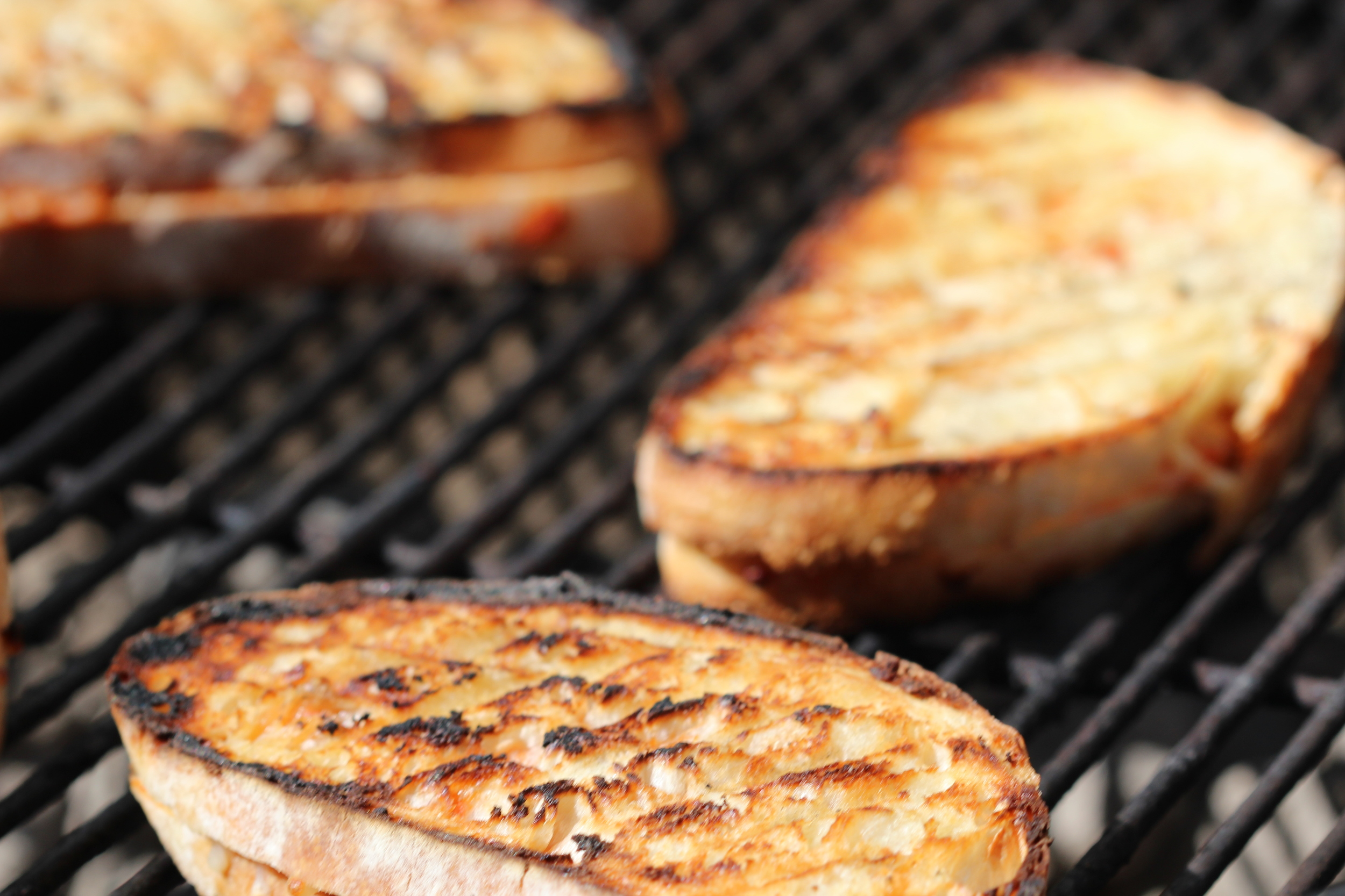 Grilling Smithfield Carnitas Grilled Cheese Sandwiches