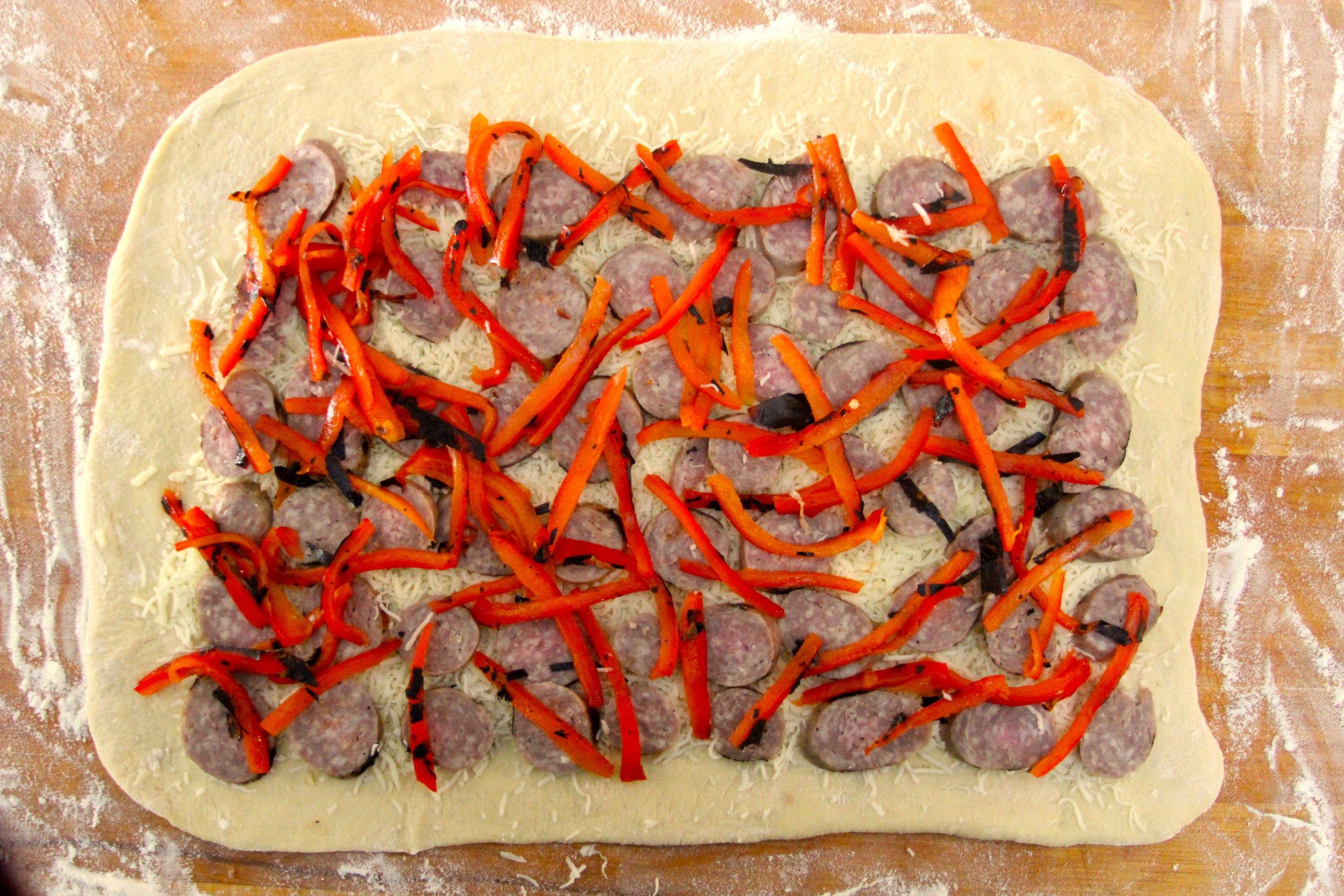 Preparing the Stromboli
