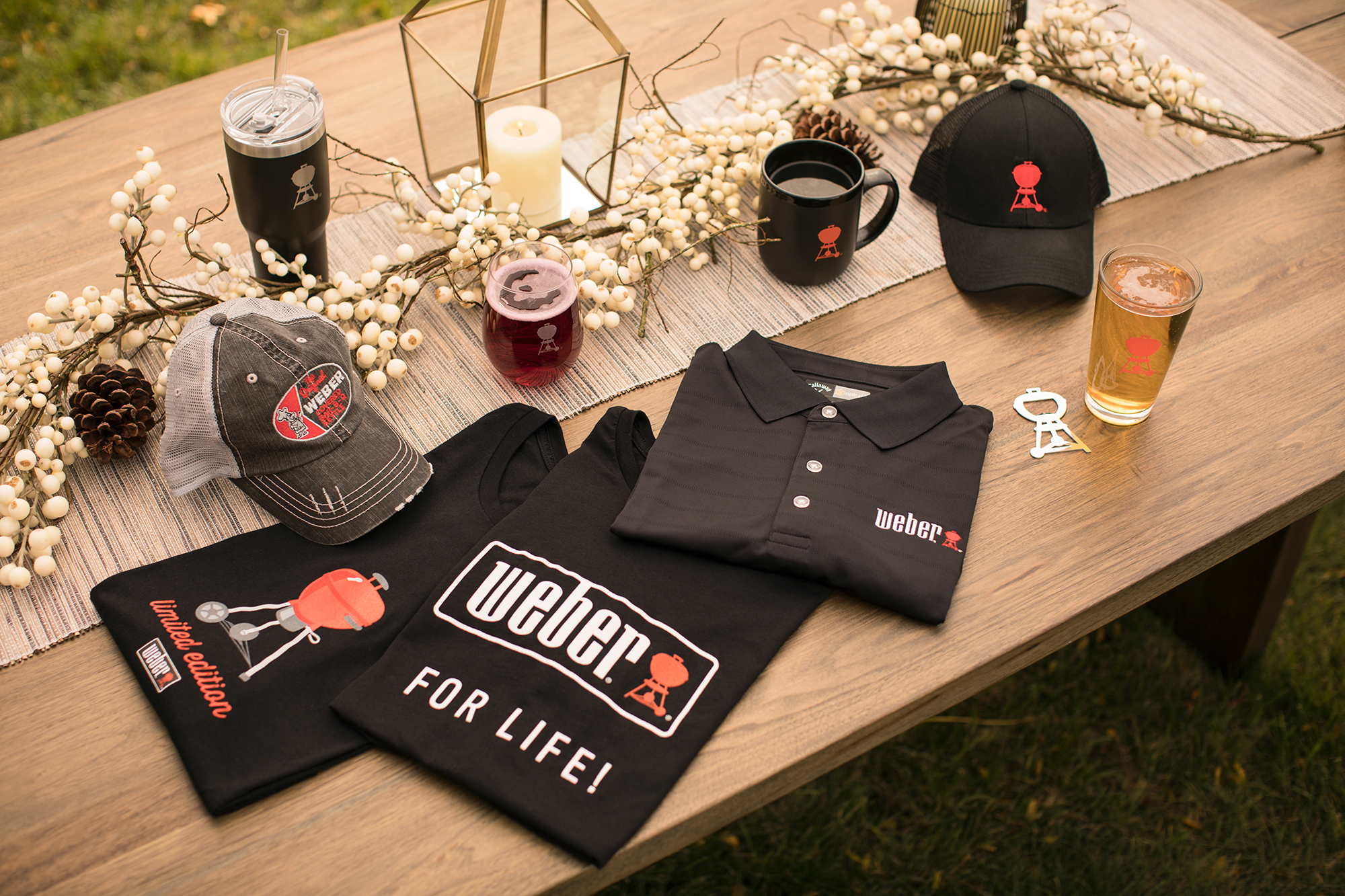 Weber Apparel and Accessories