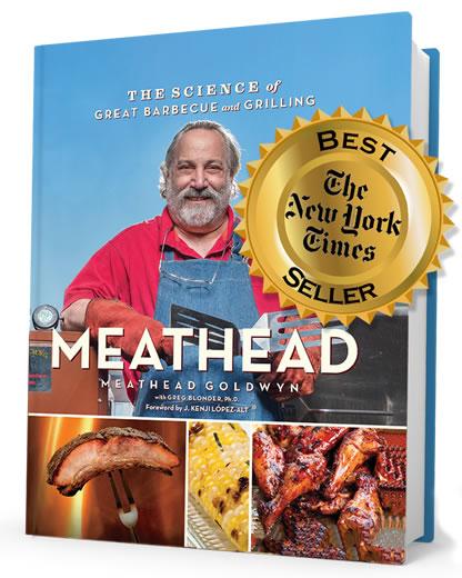Meathead cookbook