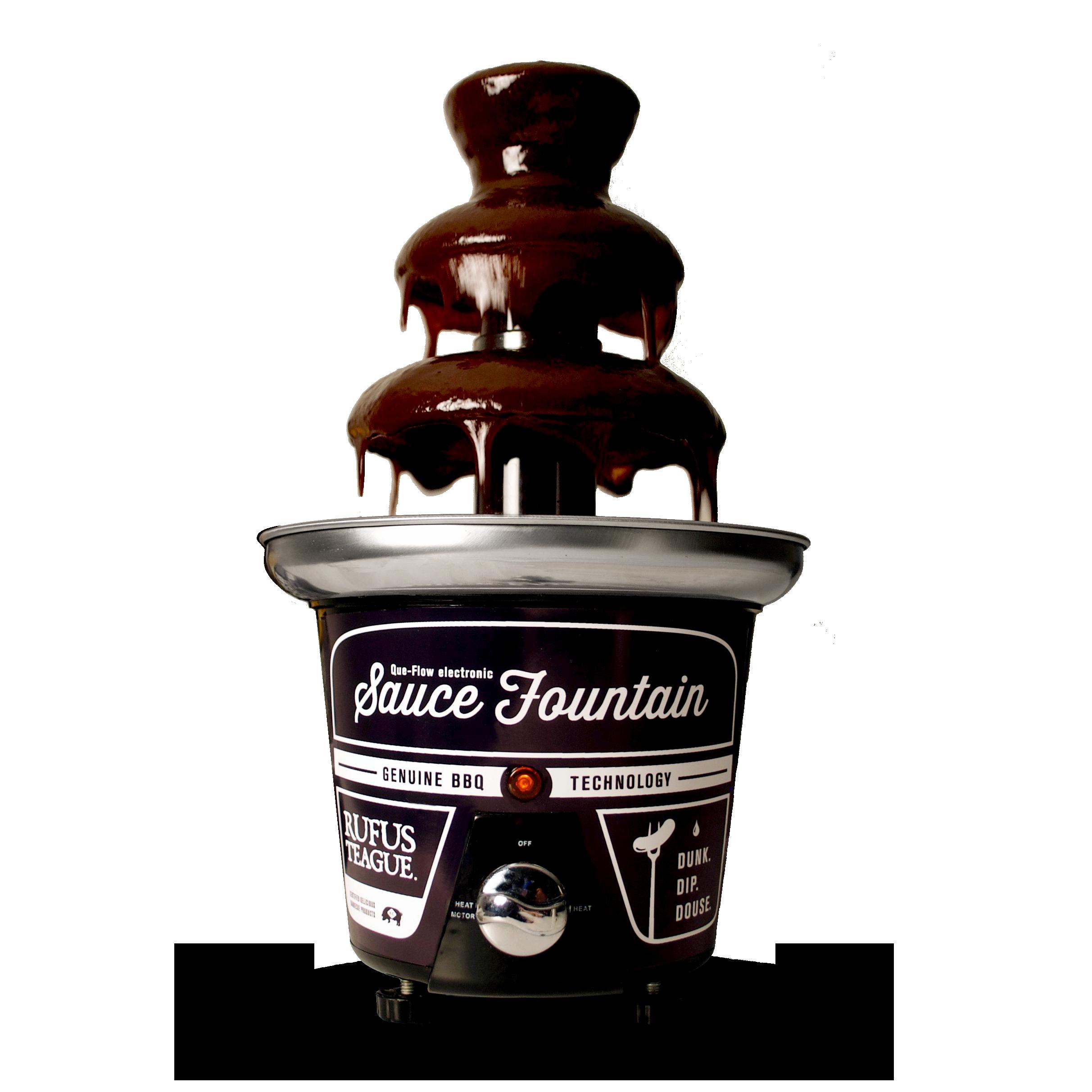 Rufus Teague BBQ Sauce Fountain