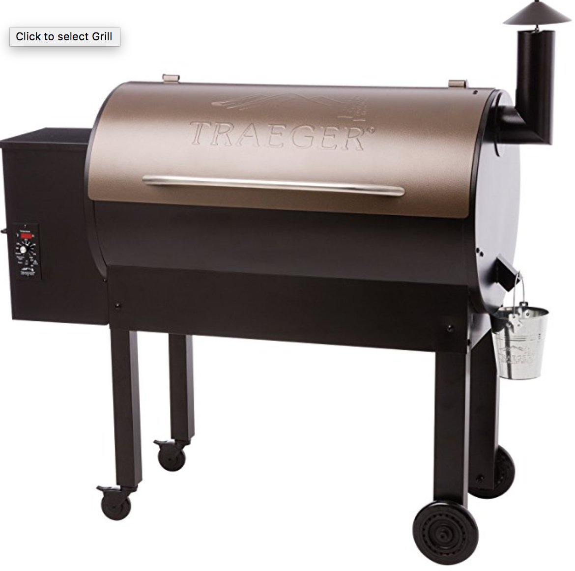 Traeger Tex Elite Pellet Smoker