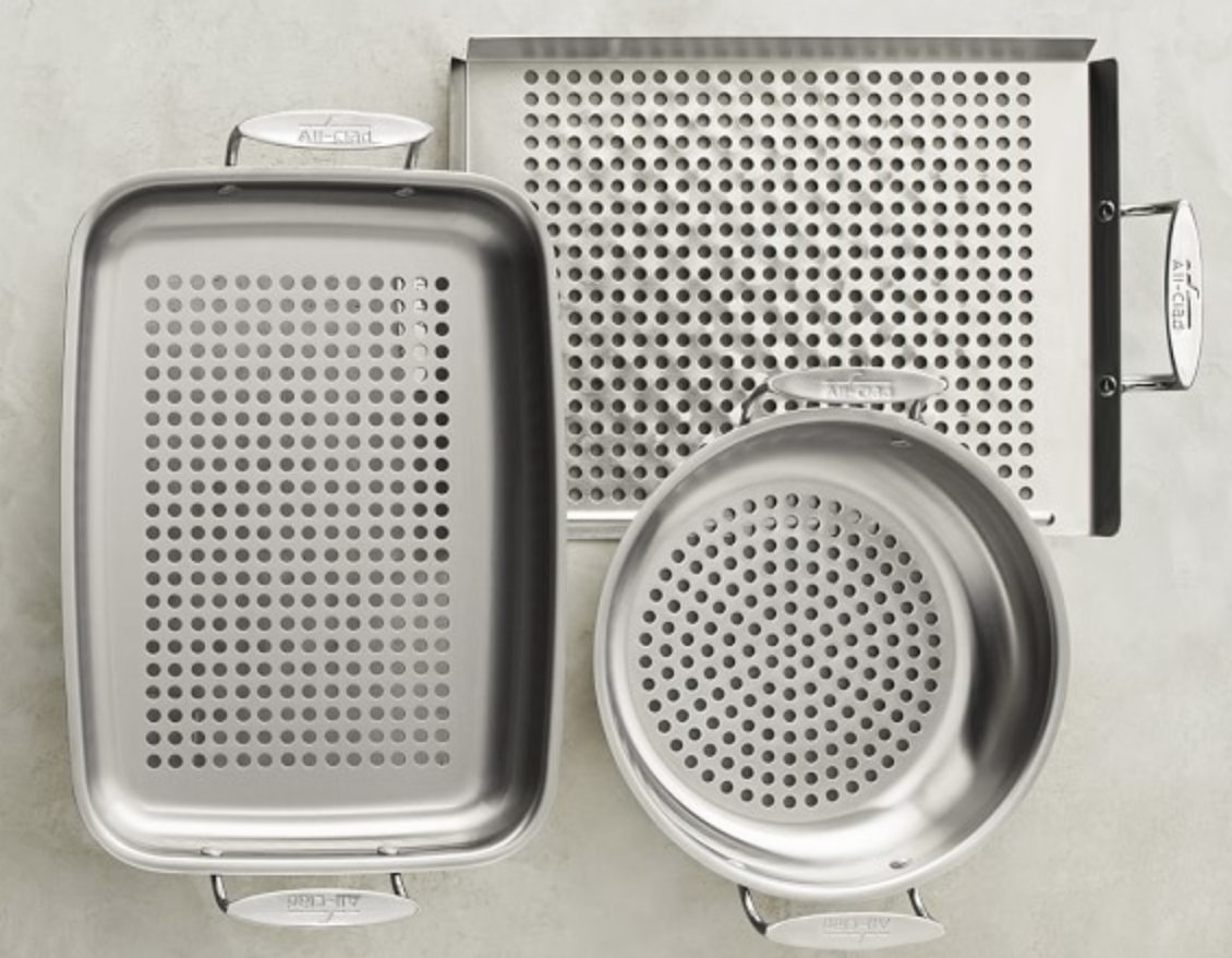 All Clad Grill Cookware Set
