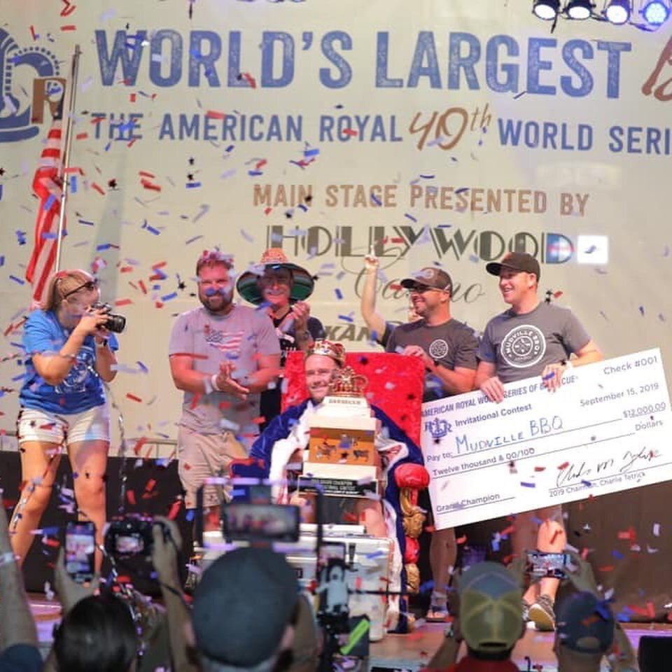 Mudville BBQ Wins 2019 American Royal Invitational