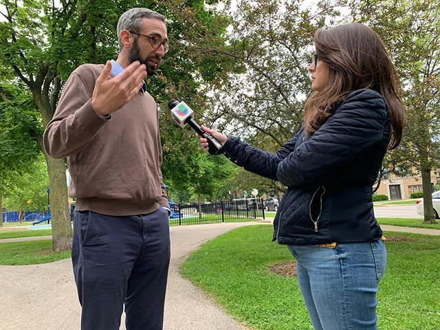 No se pierdan mi entrevista por Univisión Chicago!