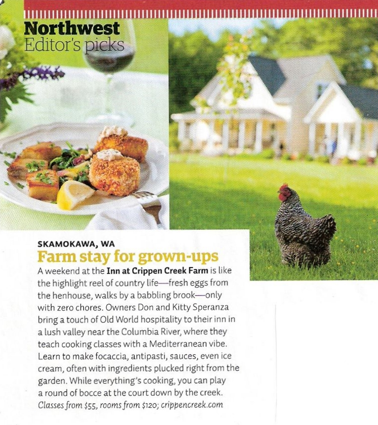 Sunset magazine, september 2011