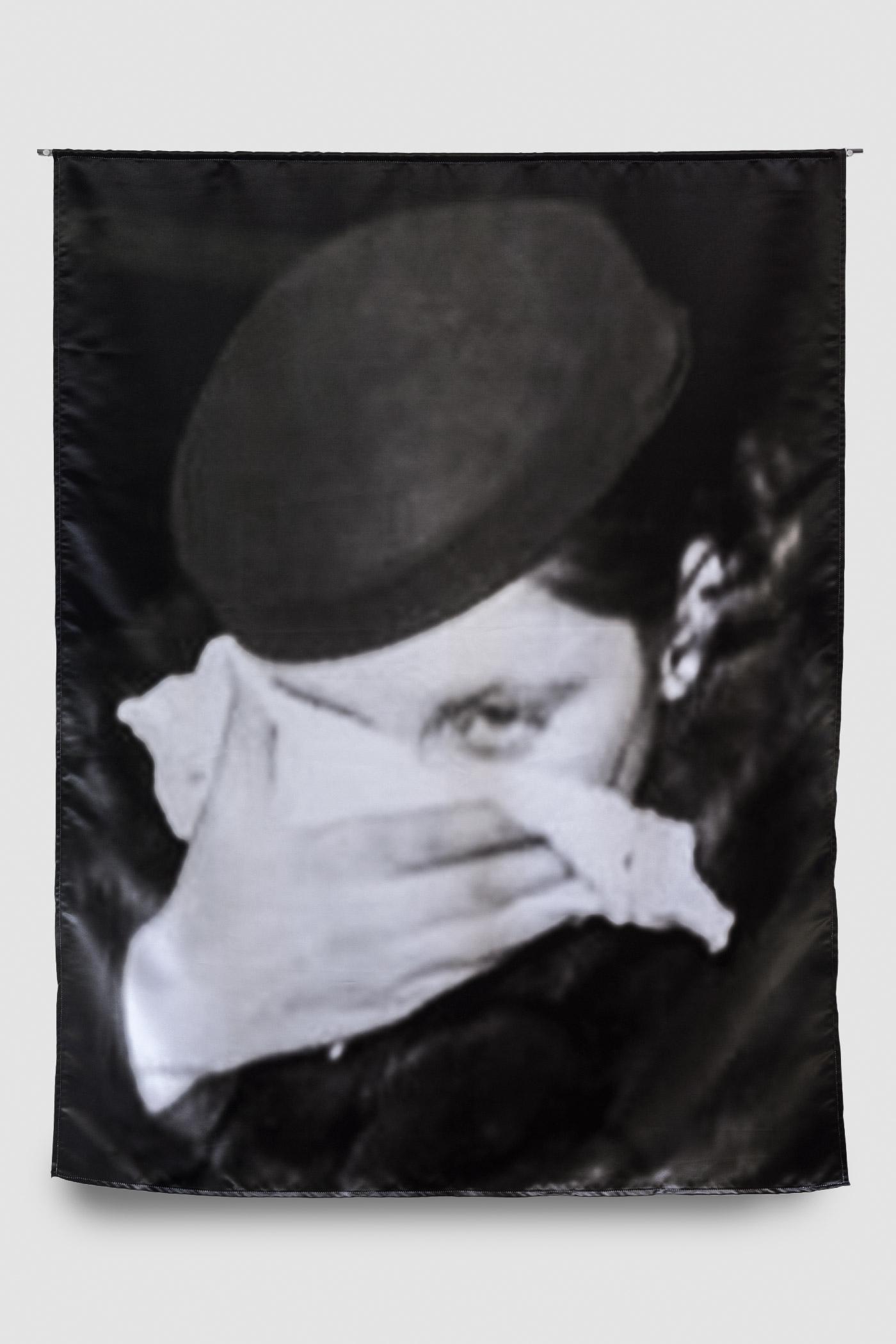 Mae Blalock   Photographic print on Satin Duchesse, steel  120x160 cm  2017