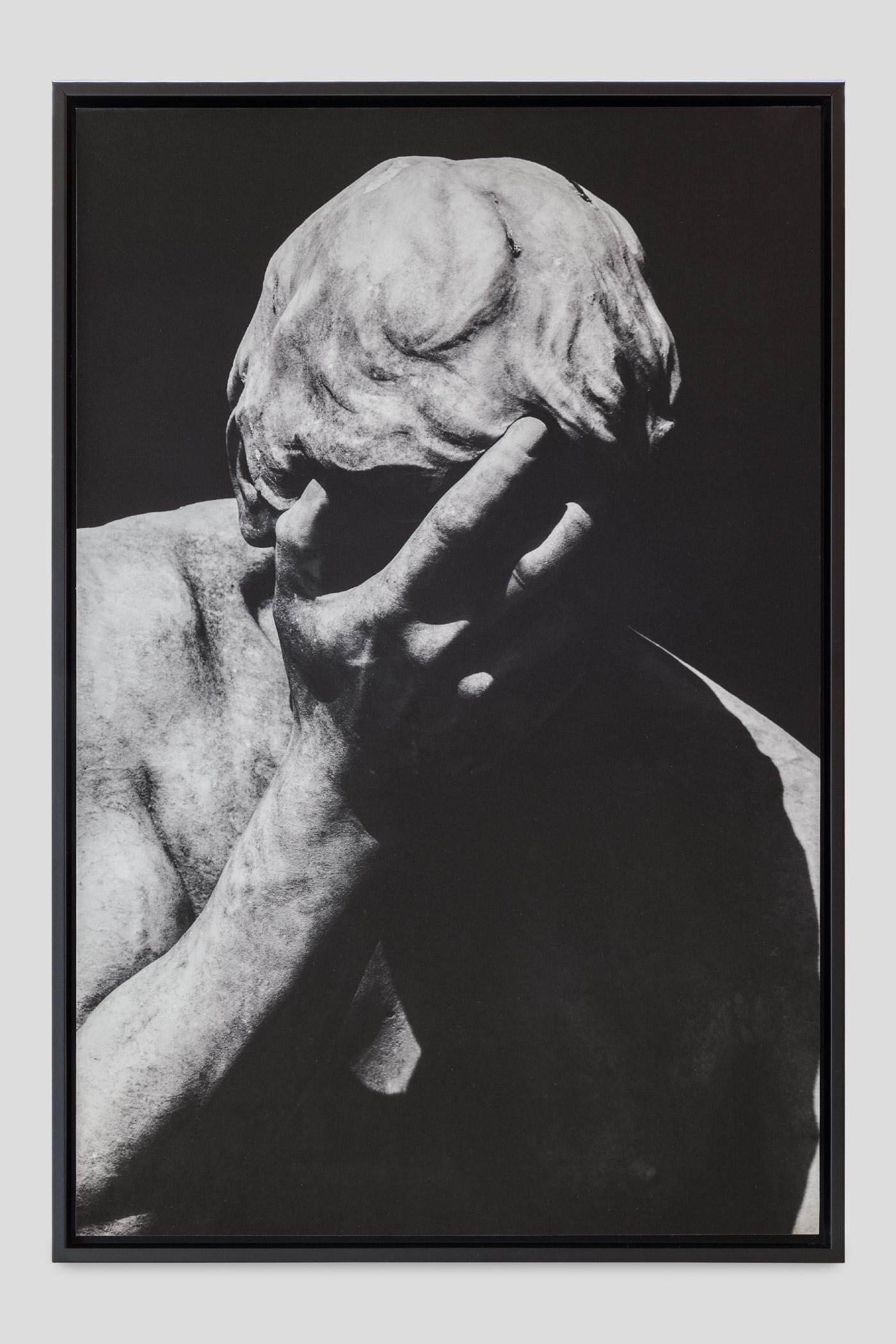 Caïn venant de tuer son frère Abel, Henri Vidal (1896), Jardin des Tuileries, Paris   Photographic print on Hahnemühle paper, framed  40x60 cm  2017