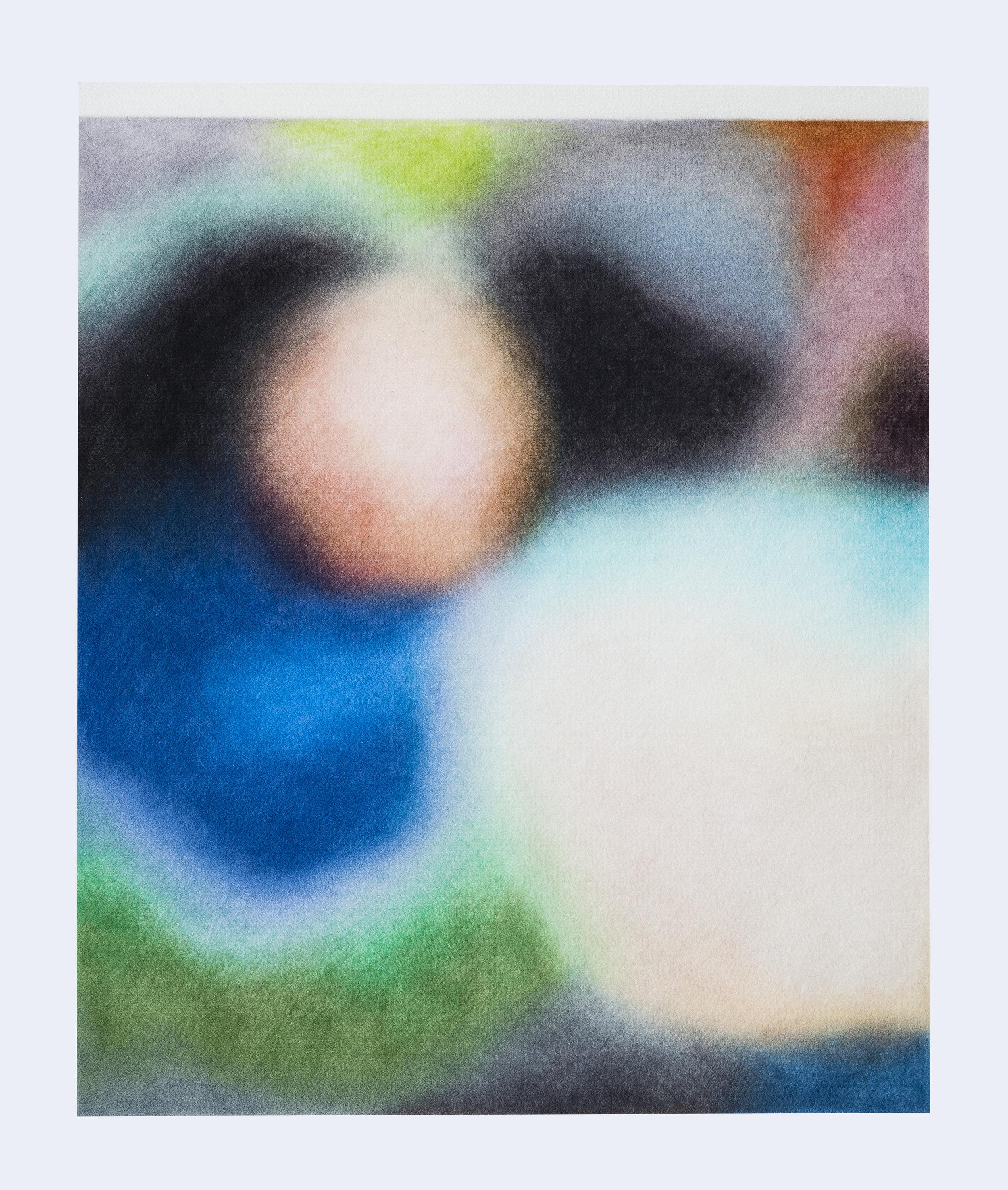 Série ''Relatives''- «  Christchurch, Nouvelle-Zélande, 17 mars 2019 »  Drawing with color pencil on felt   Dessin aux crayons de couleur sur feutre 50x60cm 2019