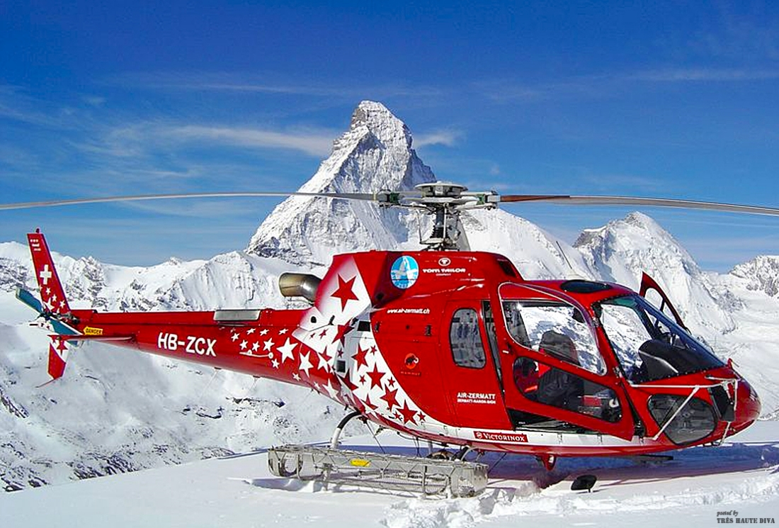 Air Zermatt and Matterhorn