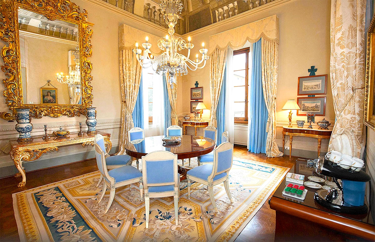 The Royal Suite Dinning Room