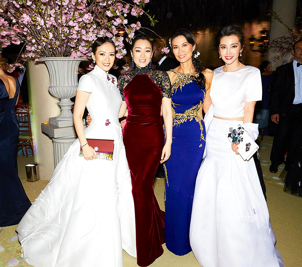 Zhang Ziyi, Gong Li, Wendi Murdoch, and Li Bingbing           Photo: David X Prutting/bfanyc.com