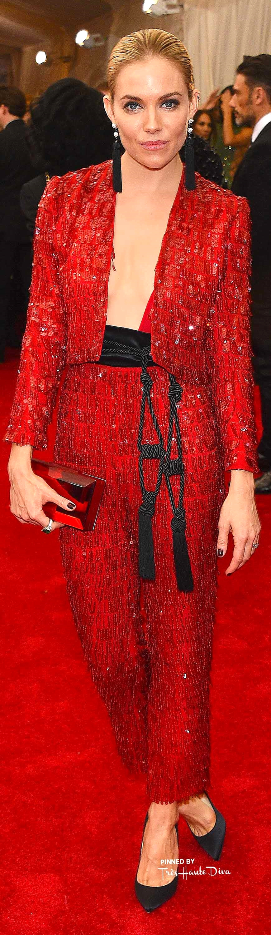 Sienna Miller in Thakoon Getty Images/ Larry Busacca