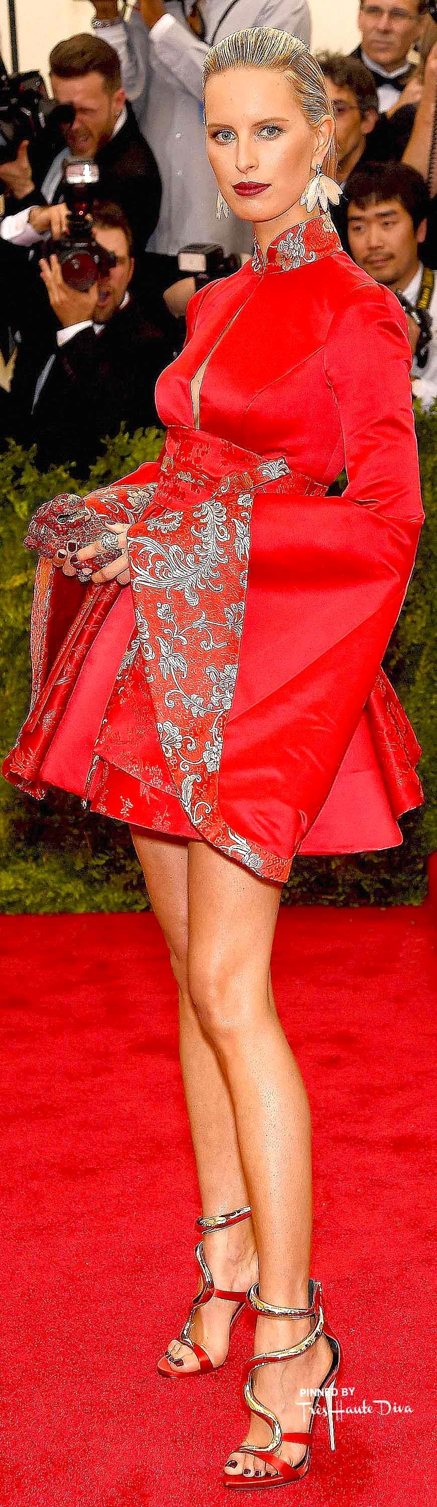 Karolina Kurkova in Tommy Hilfiger & Fred Leighton Jewelry Getty Images/ Dimitrios Kambouris