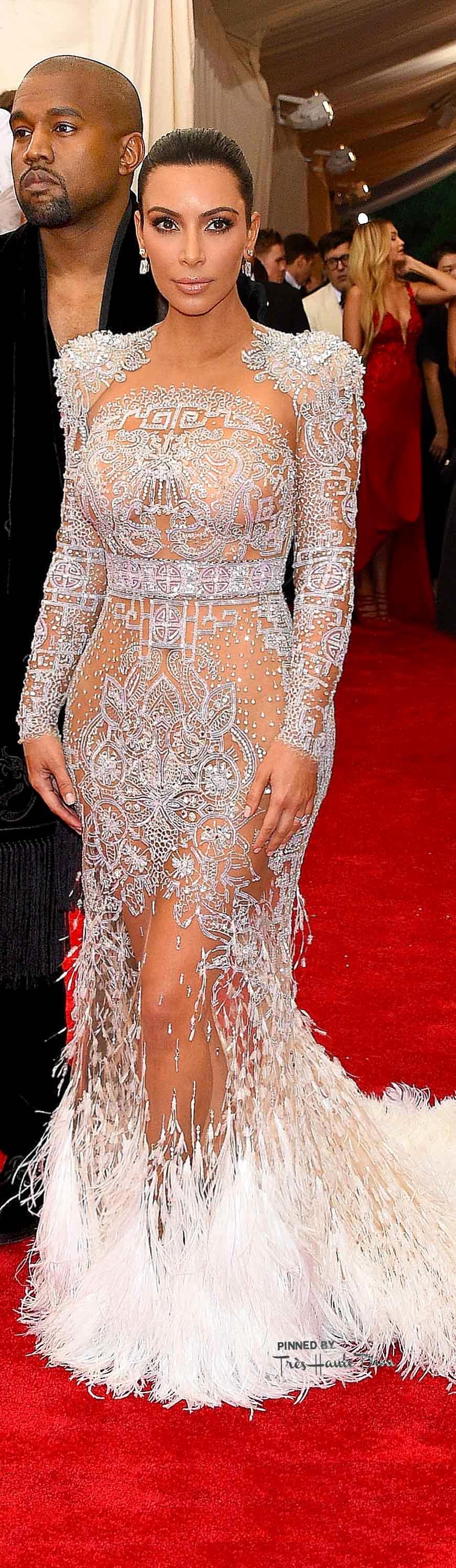Kim Kardashian in Roberto Cavalli Getty Images/ Larry Busacca