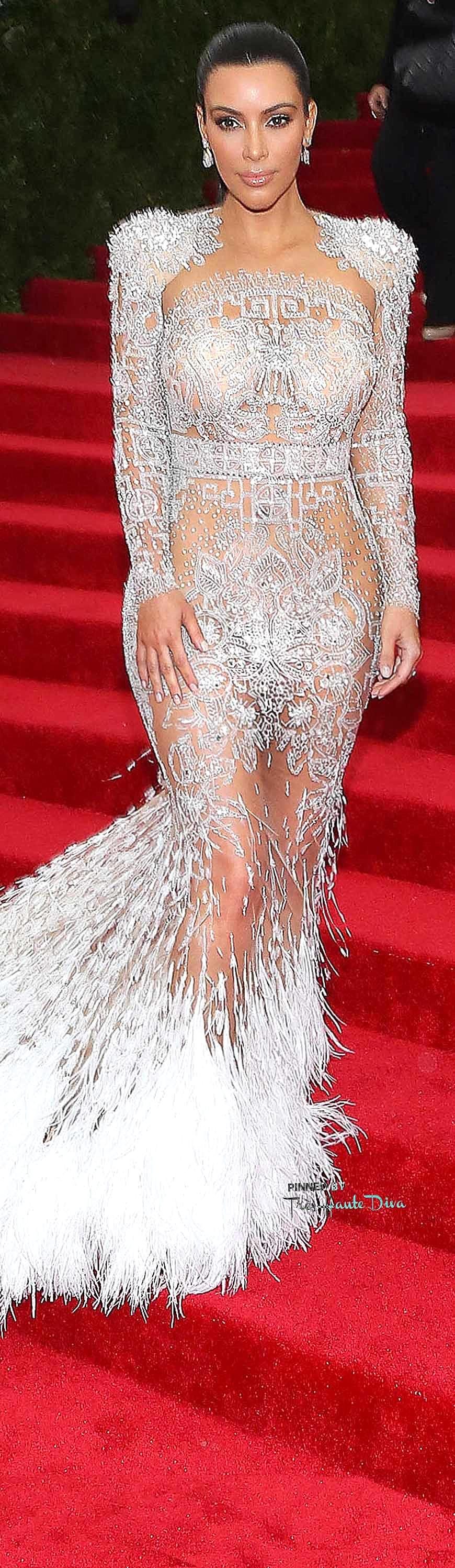 Kim Kardashian in Roberto Cavalli Getty Images / Taylor Hill