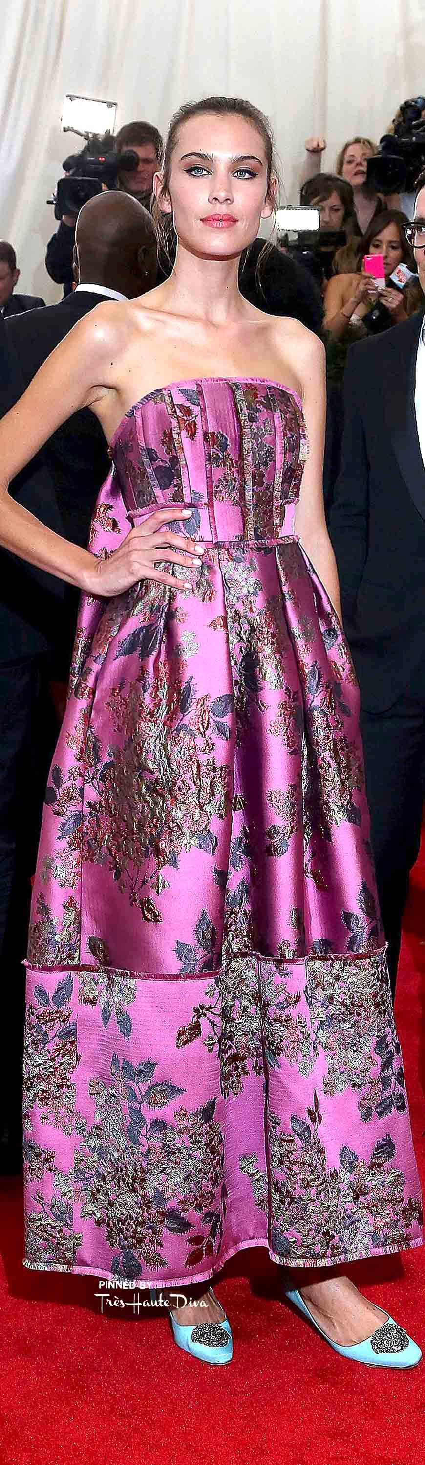 Alexa Chung in Erdem Getty Images/ Taylor Hill