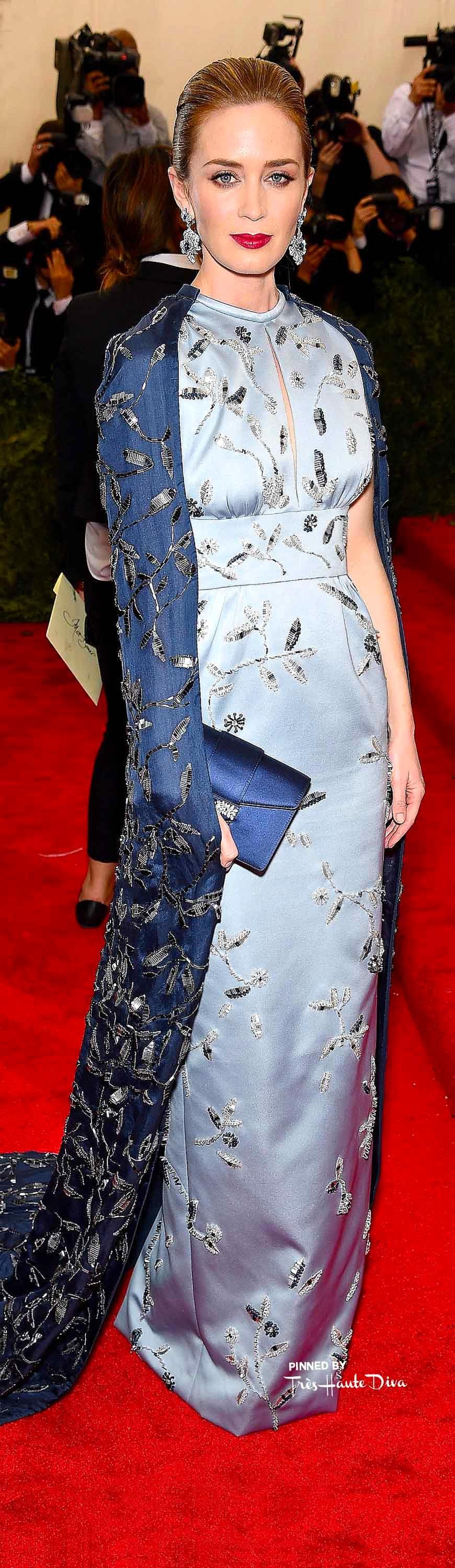 Emily Blunt in Prada Getty Images/ Dimitrios Kambouris